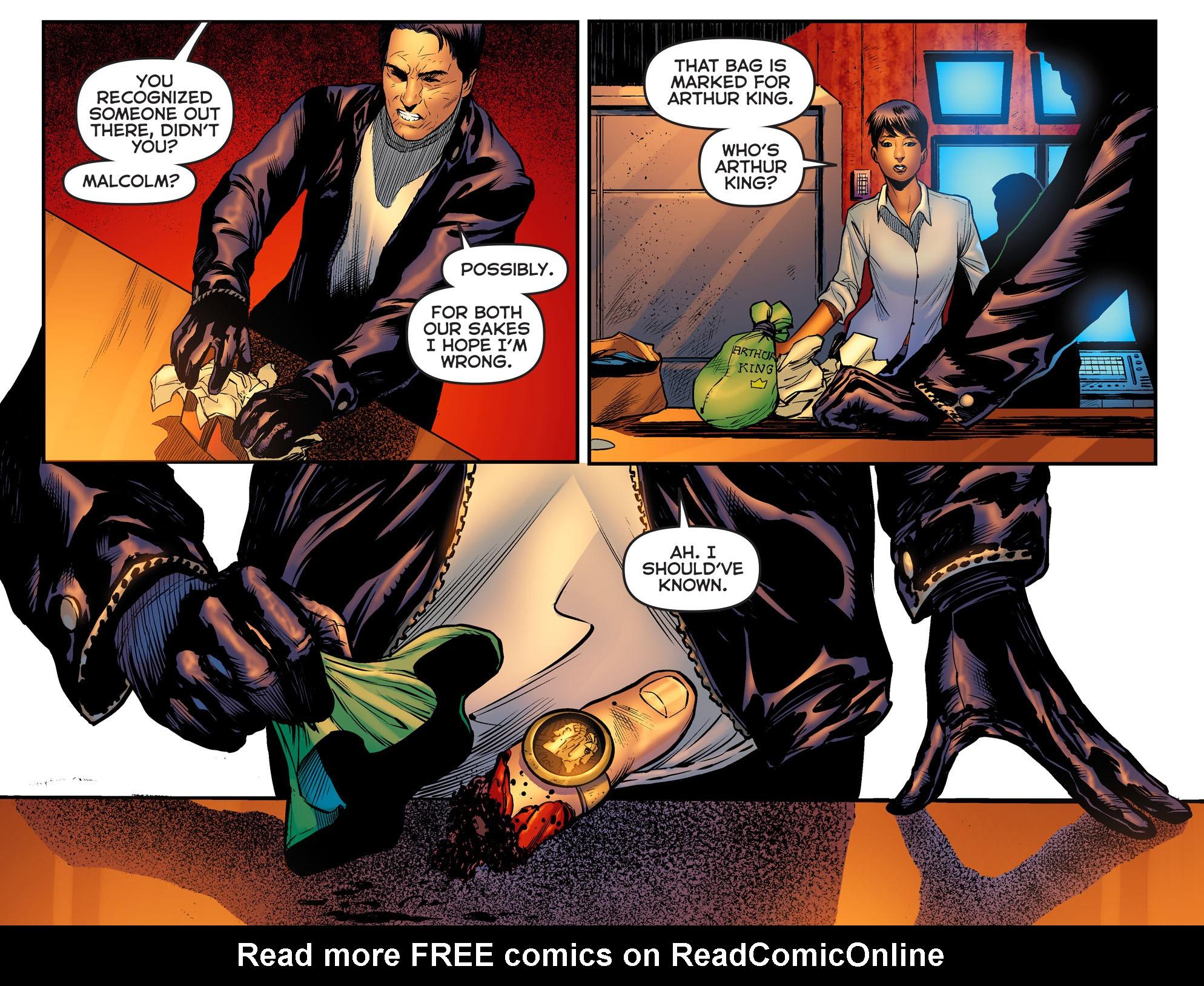 Read online Arrow: The Dark Archer comic -  Issue #2 - 12