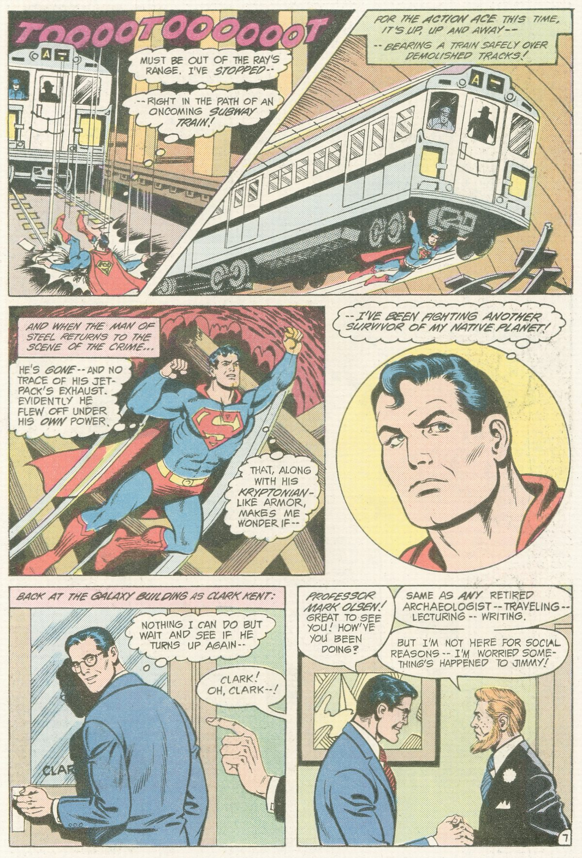 Read online Action Comics (1938) comic -  Issue #565 - 9