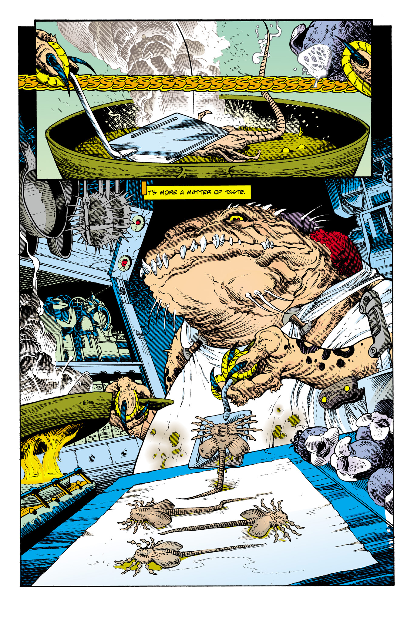 Read online Aliens: Incubation/Lucky/Taste comic -  Issue # Full - 30
