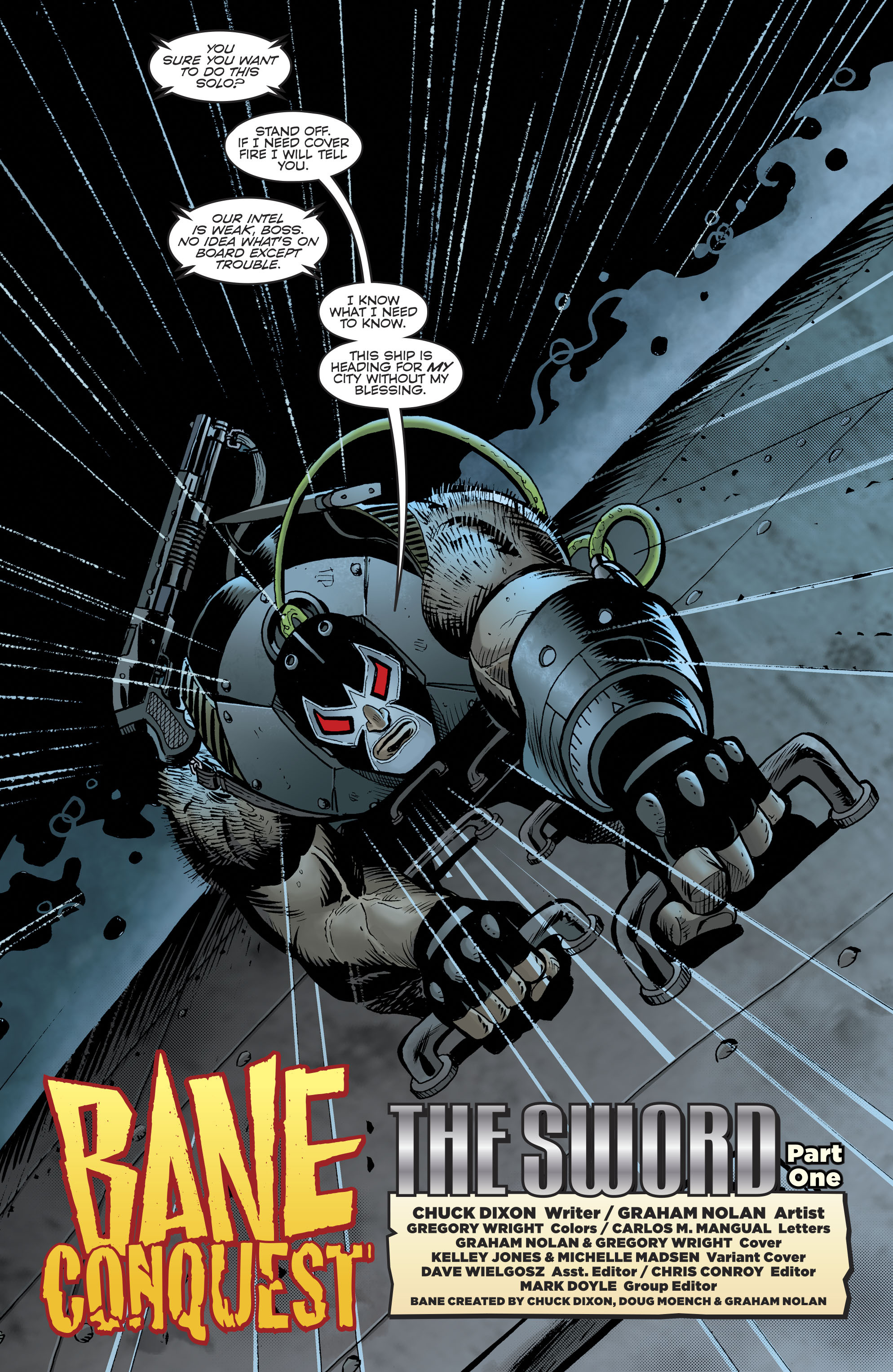 Read online Bane: Conquest comic -  Issue #1 - 6