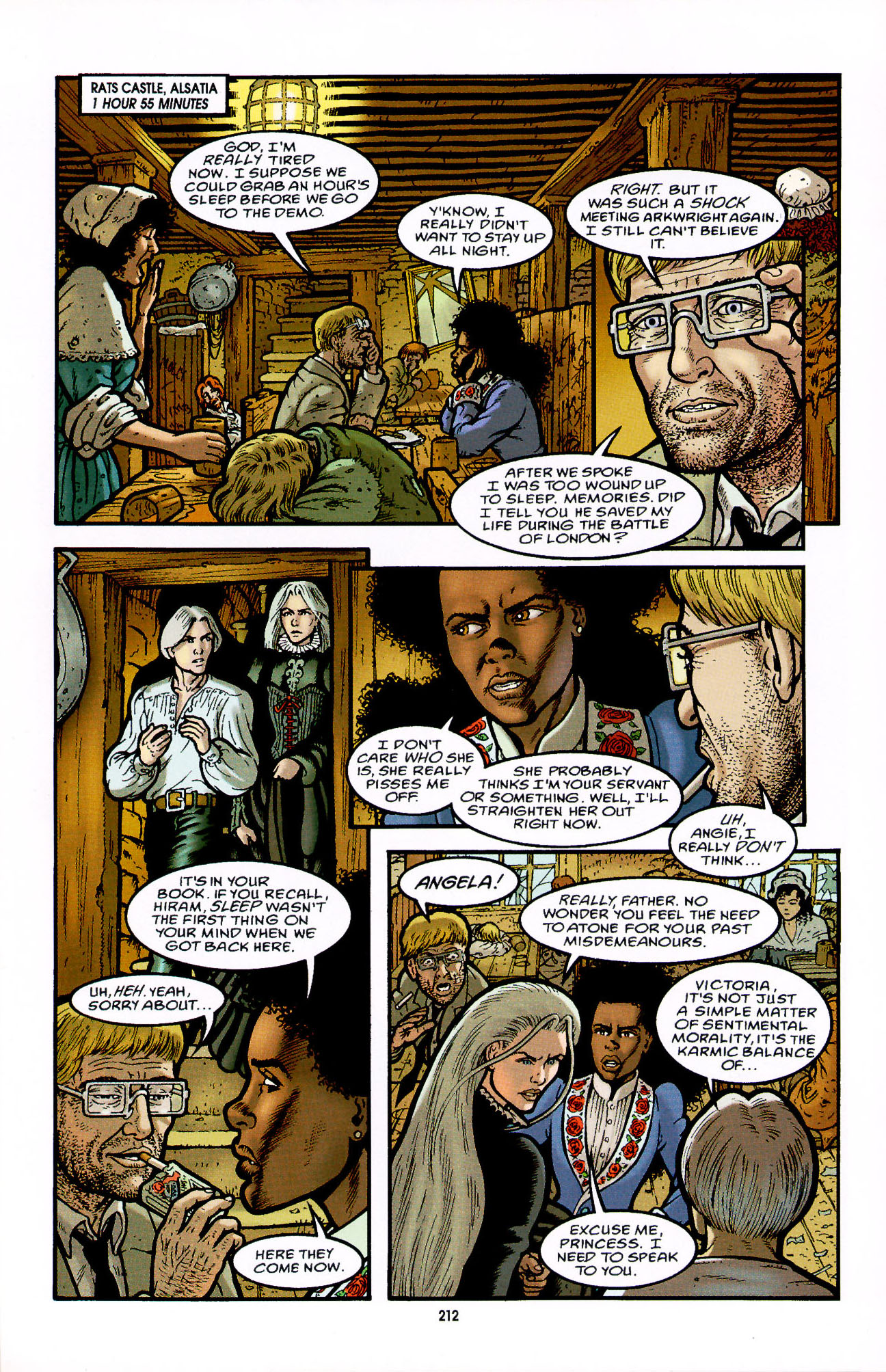 Read online Heart of Empire comic -  Issue #7 - 18