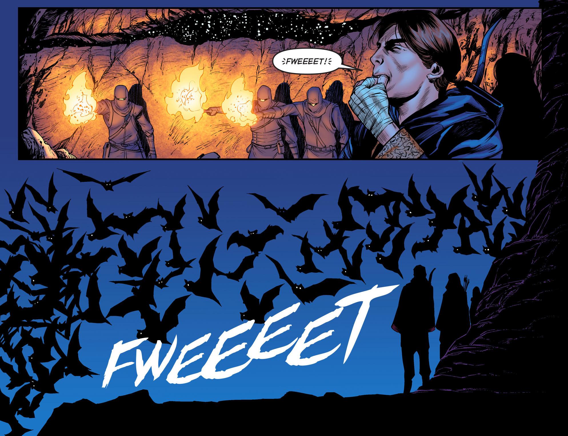 Read online Arrow: The Dark Archer comic -  Issue #3 - 14
