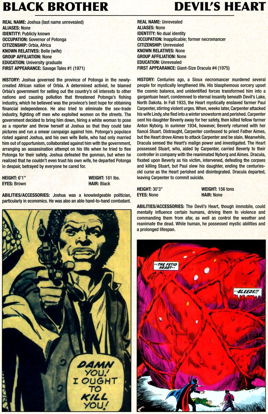 Read online Marvel Legacy: The 1970's Handbook comic -  Issue # Full - 5