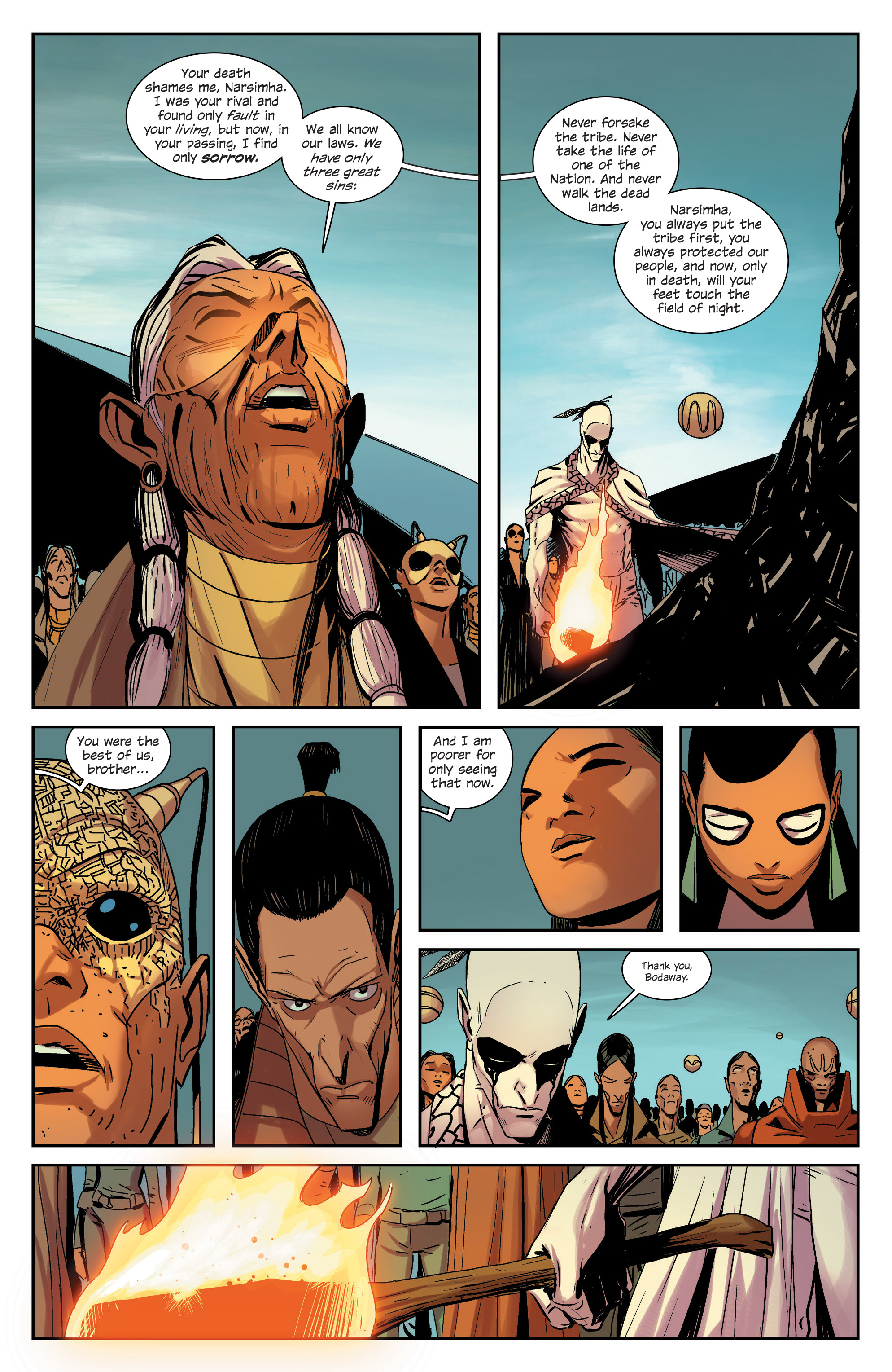 Read online East Of West comic -  Issue #33 - 5