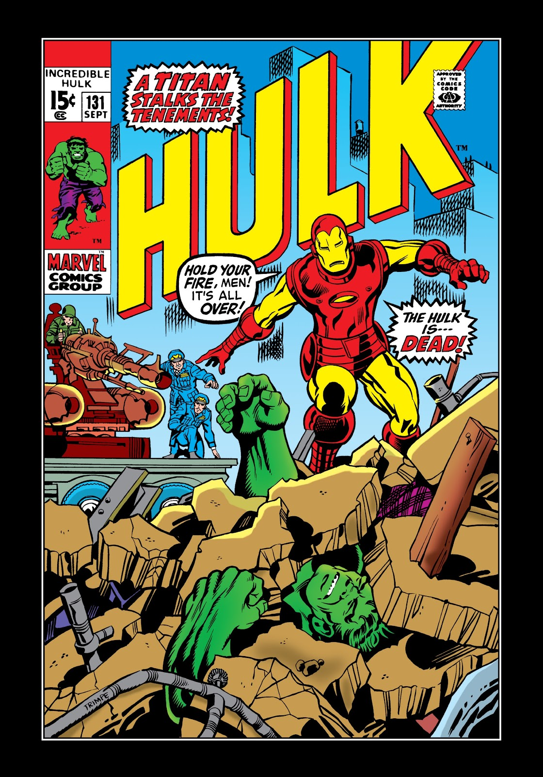 Read online Marvel Masterworks: The Incredible Hulk comic -  Issue # TPB 6 (Part 2) - 94