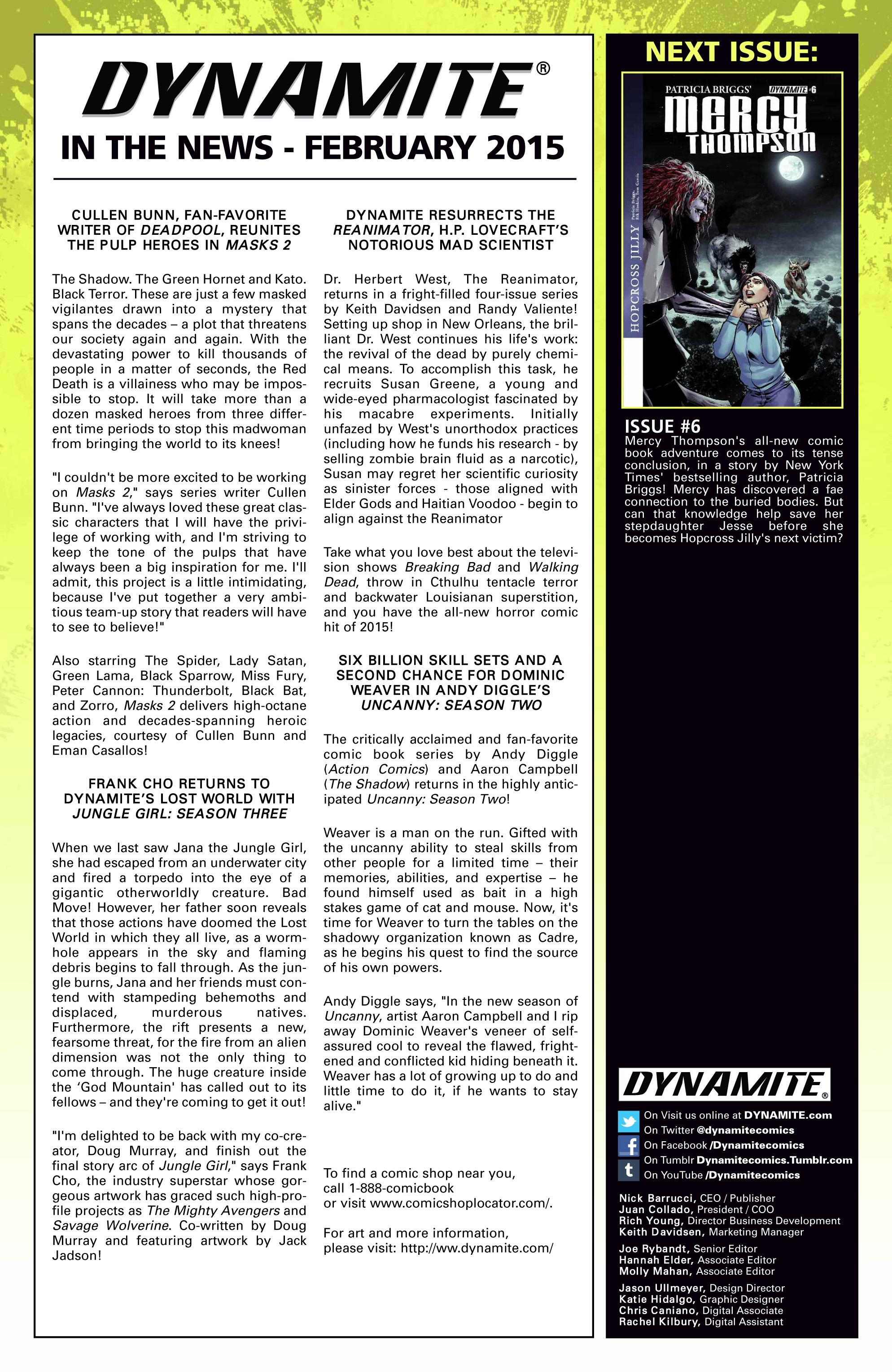 Read online Mercy Thompson comic -  Issue #5 - 24