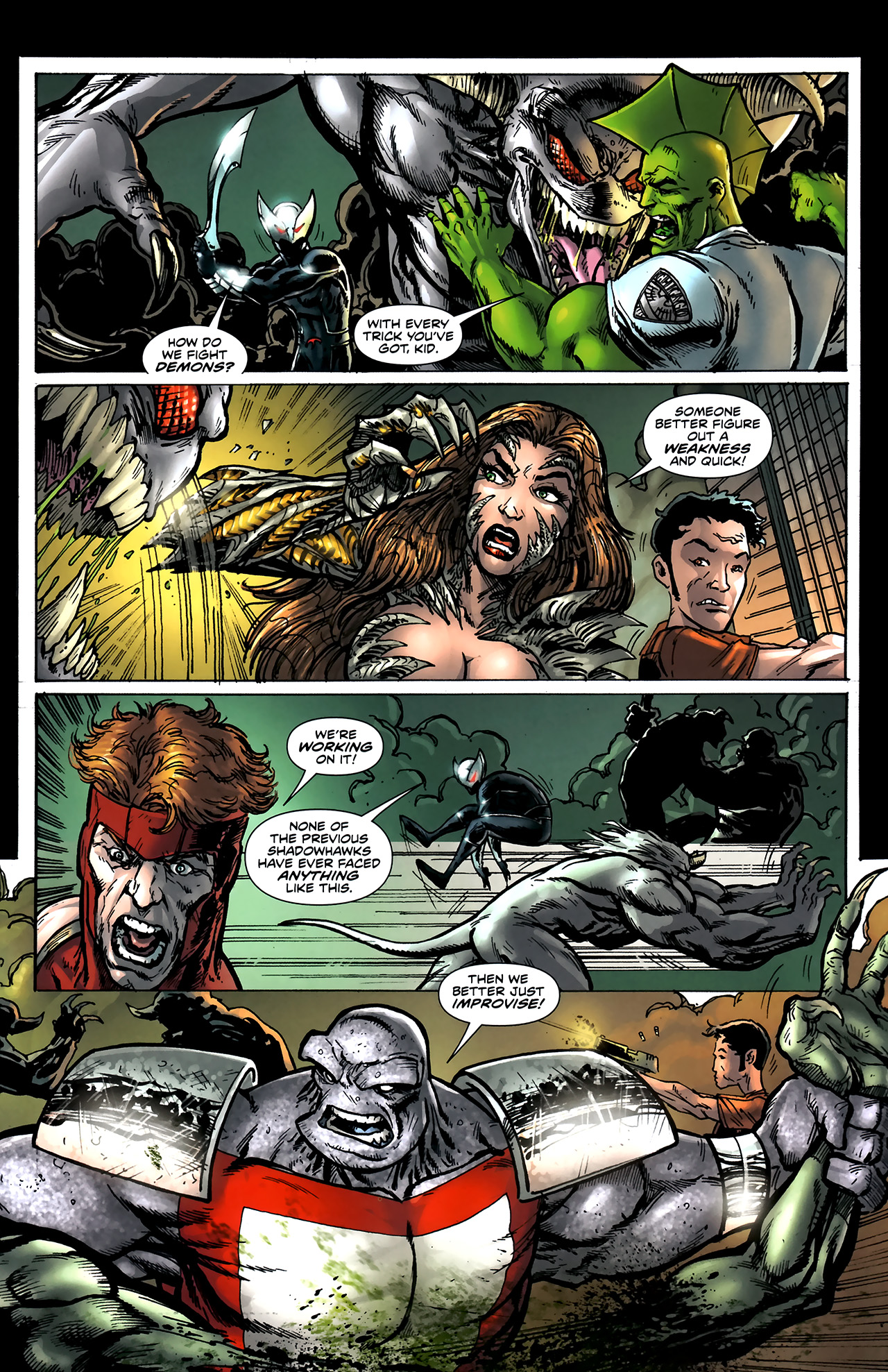 Read online ShadowHawk (2010) comic -  Issue #5 - 9