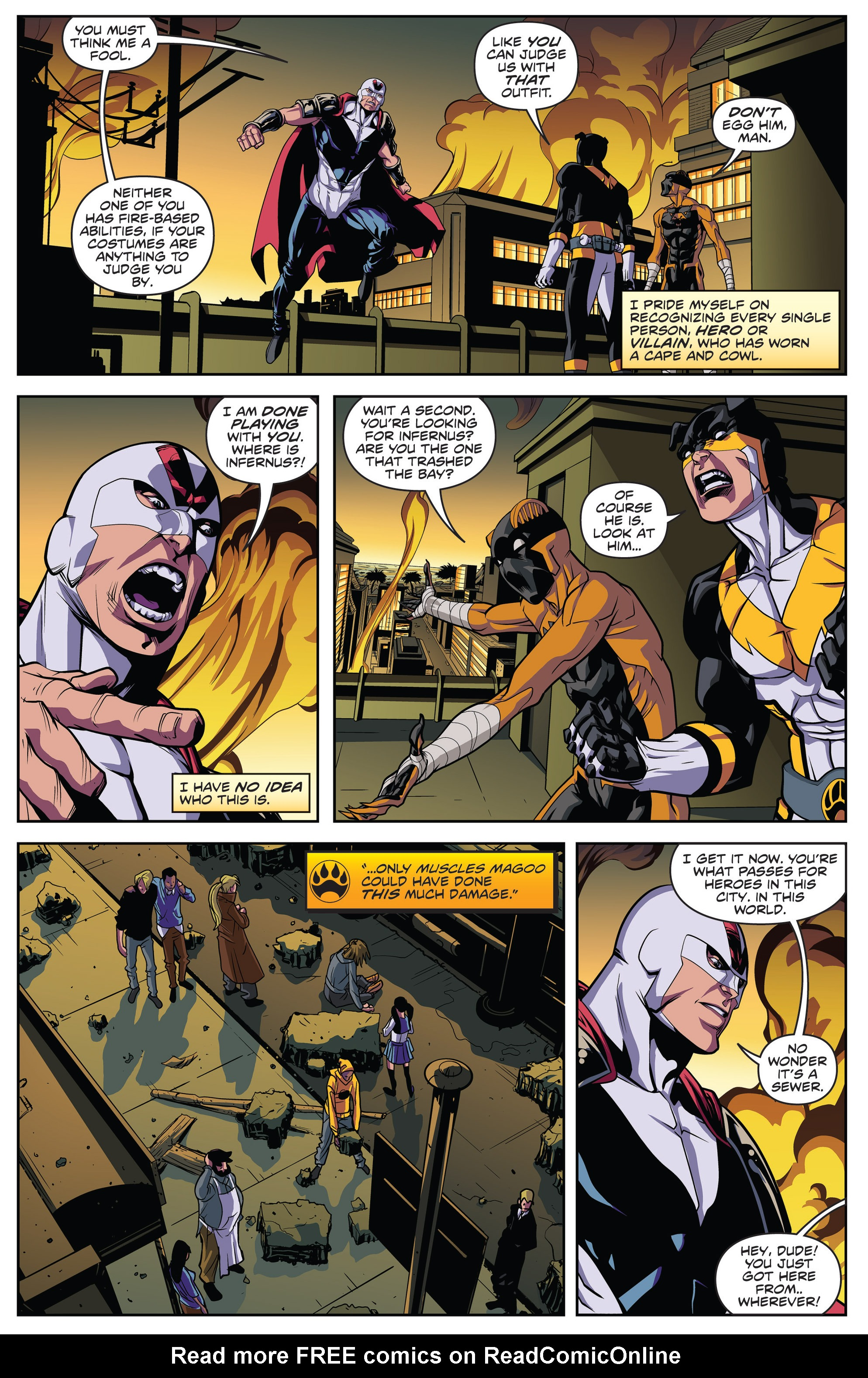 Read online Actionverse comic -  Issue #4 - 4