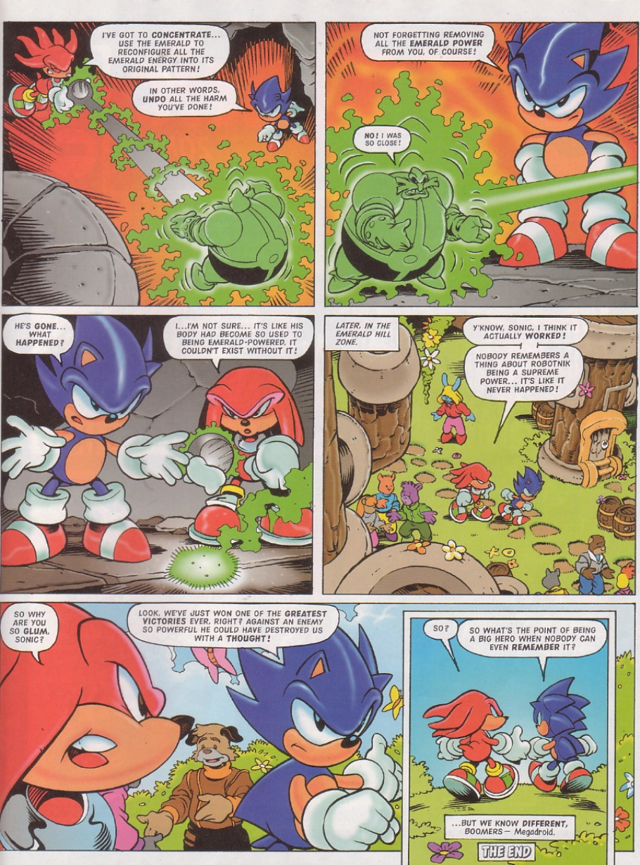 Read online Sonic the Comic comic -  Issue #130 - 20