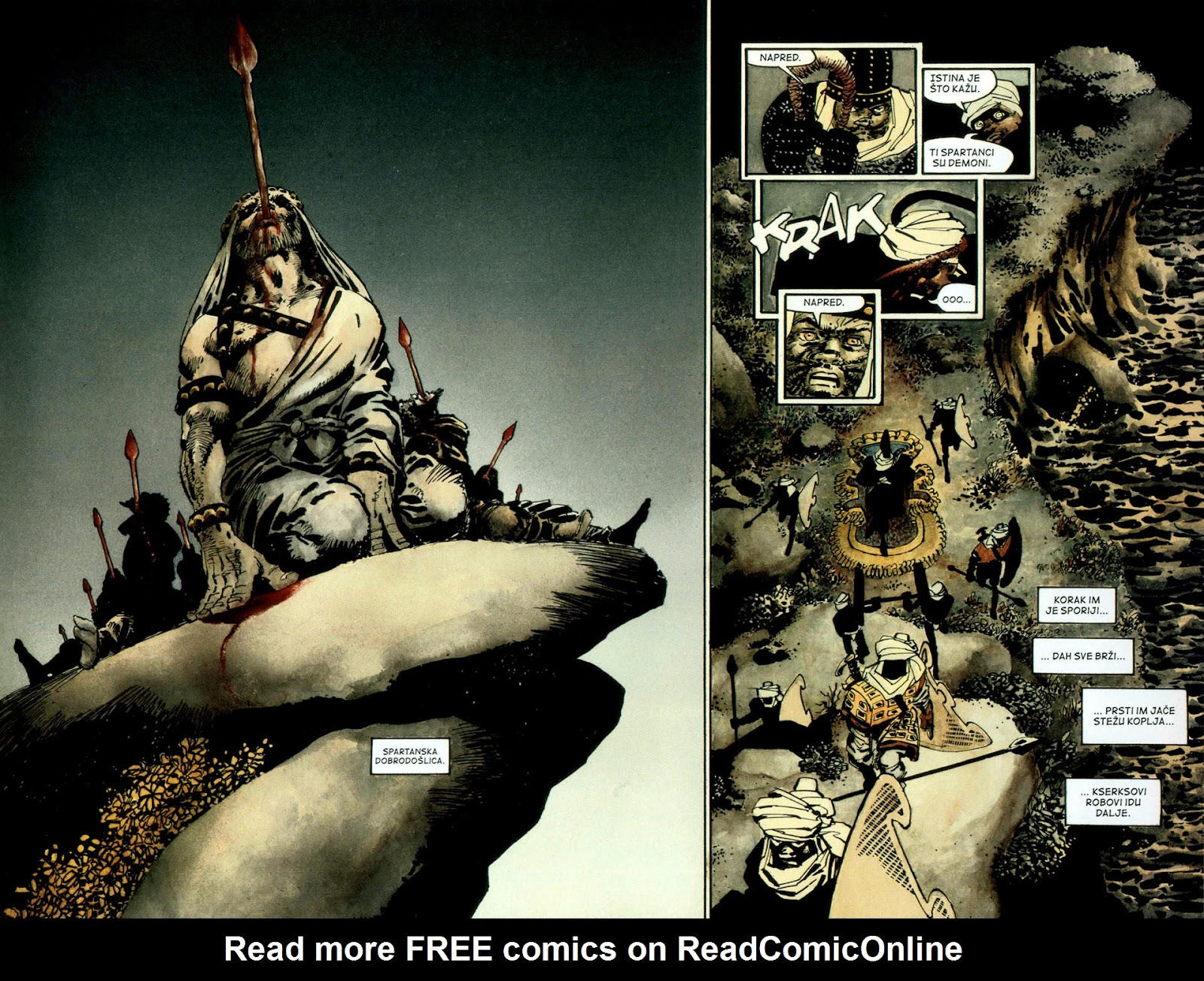 Read online 300 (2007) comic -  Issue # TPB - 38