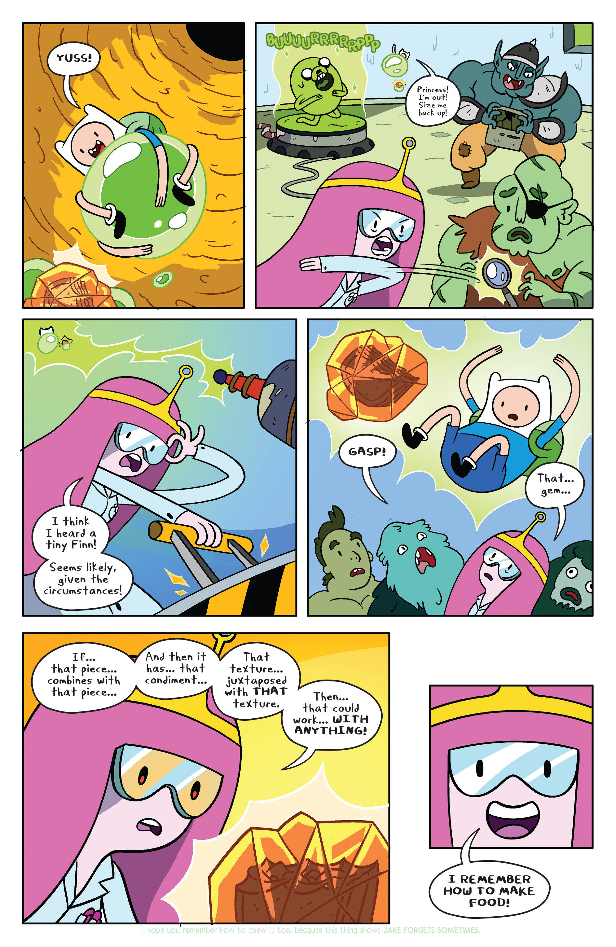 Read online Adventure Time comic -  Issue #38 - 16