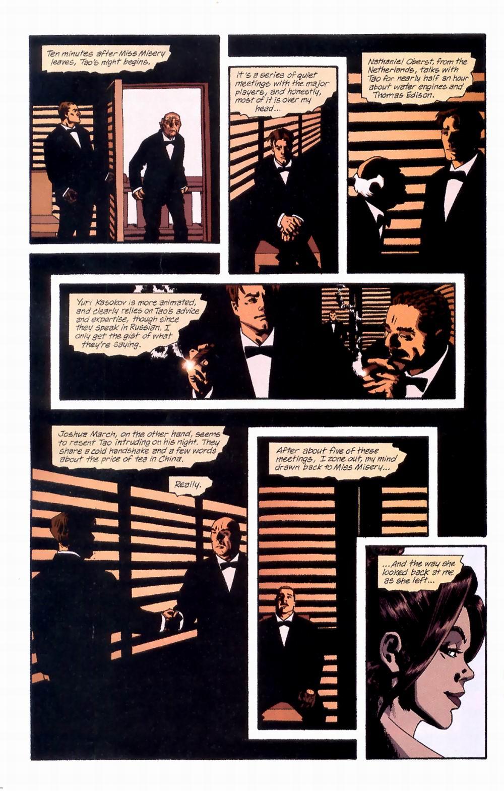 Read online Sleeper comic -  Issue #4 - 13
