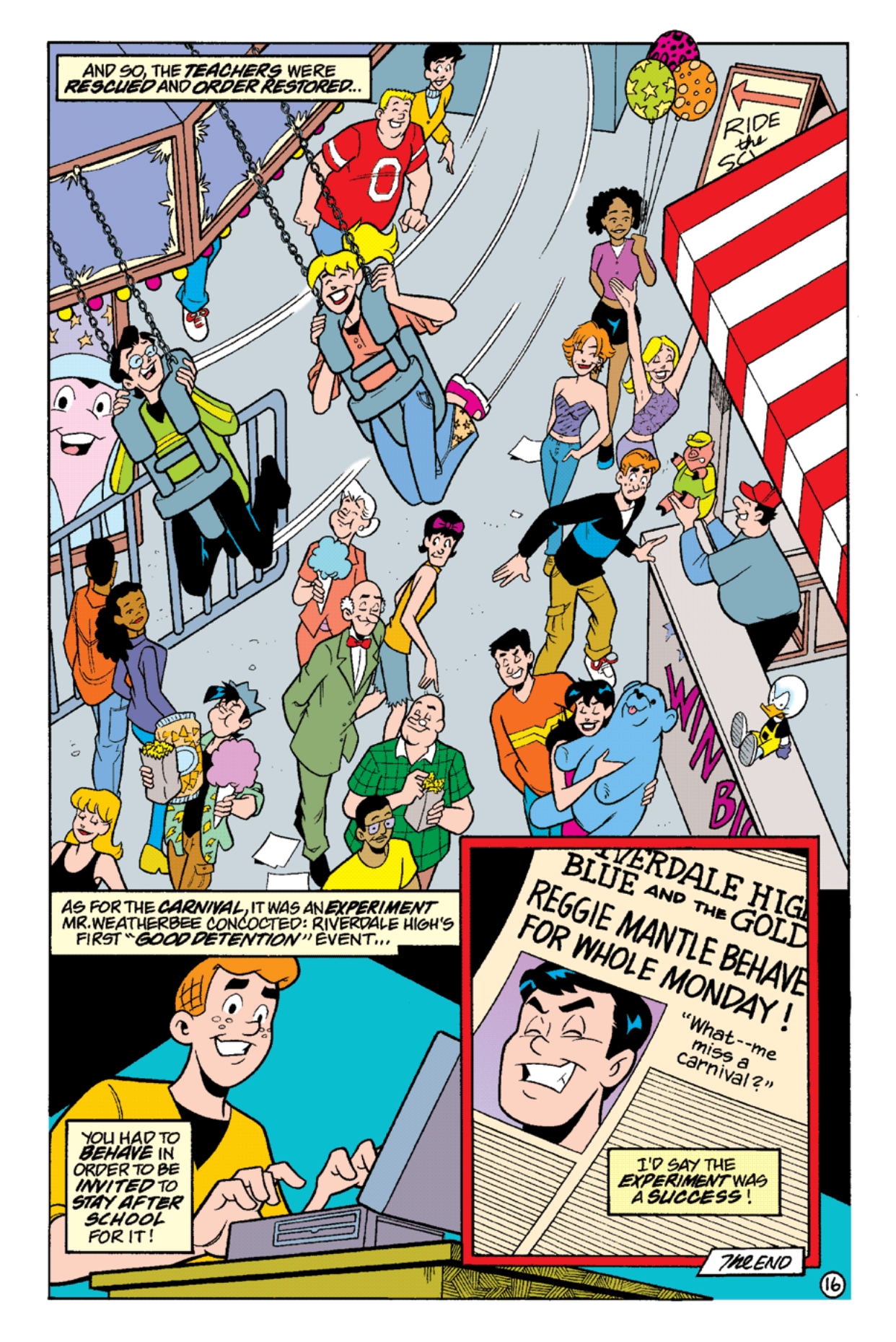 Read online Archie's Weird Mysteries comic -  Issue #16 - 18