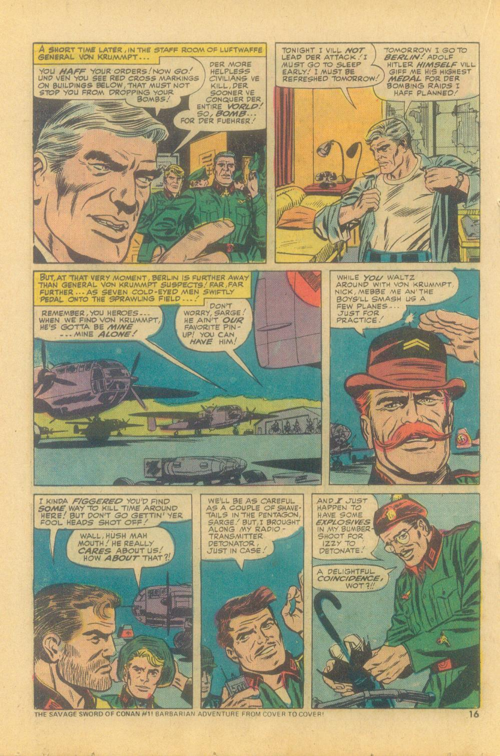 Read online Sgt. Fury comic -  Issue #121 - 18