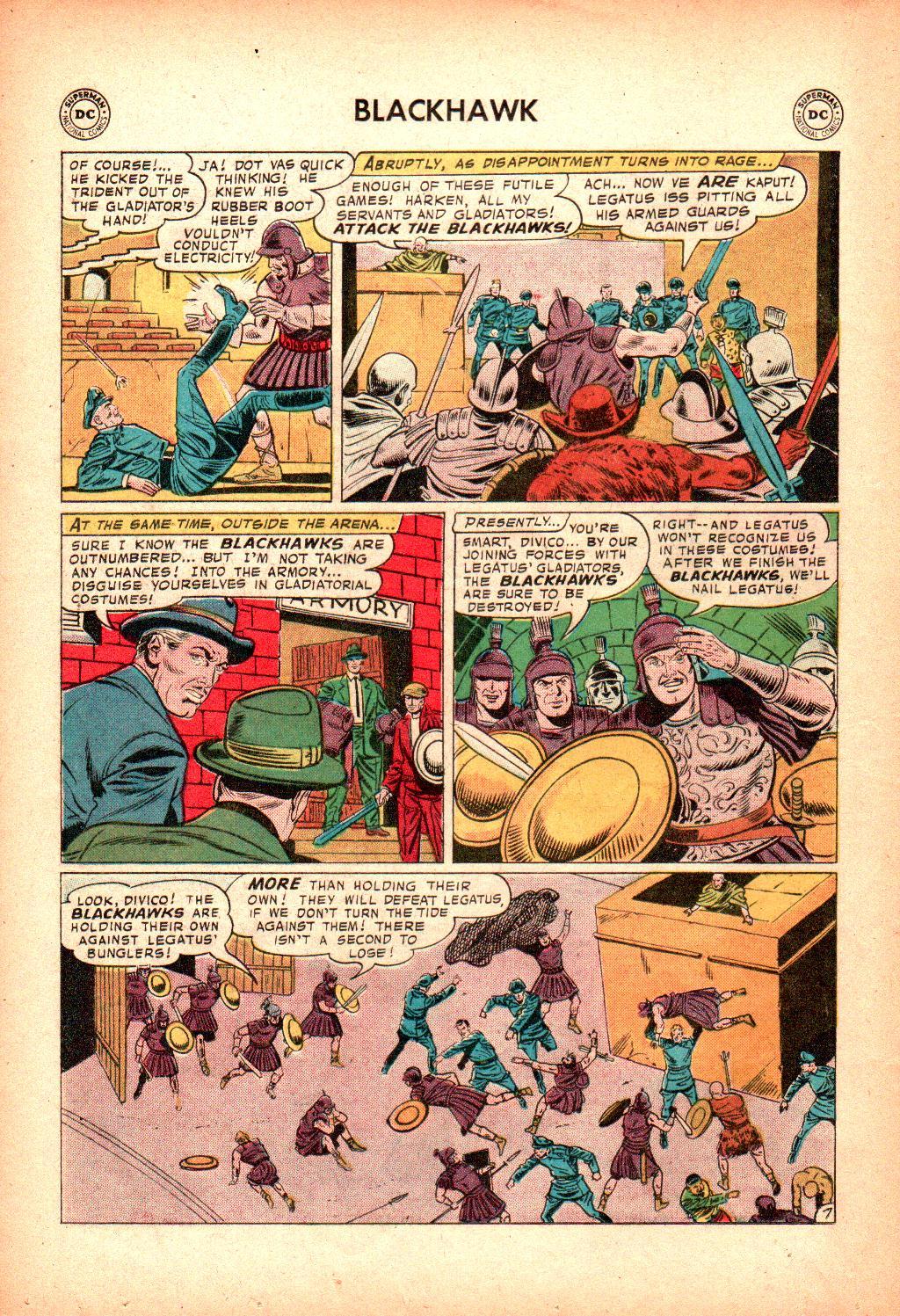 Blackhawk (1957) Issue #128 #21 - English 20