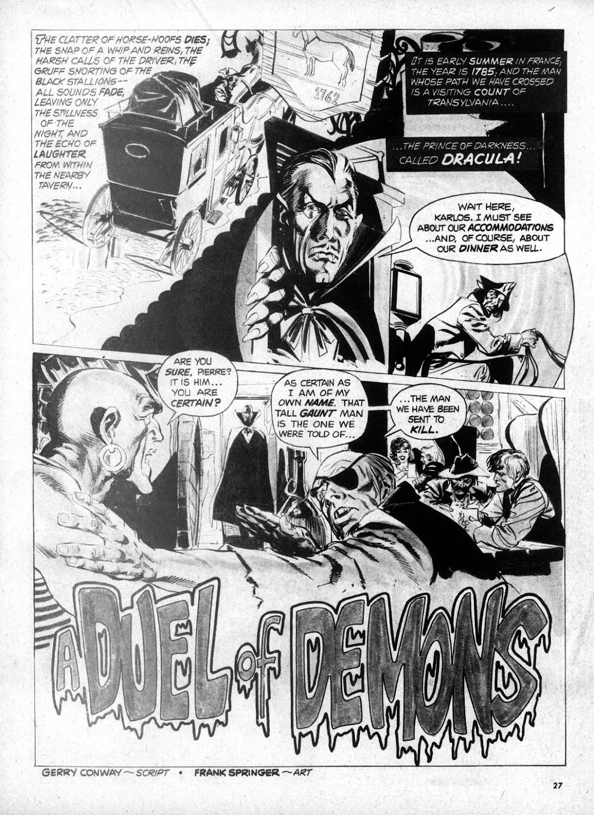 Dracula Lives issue 5 - Page 25