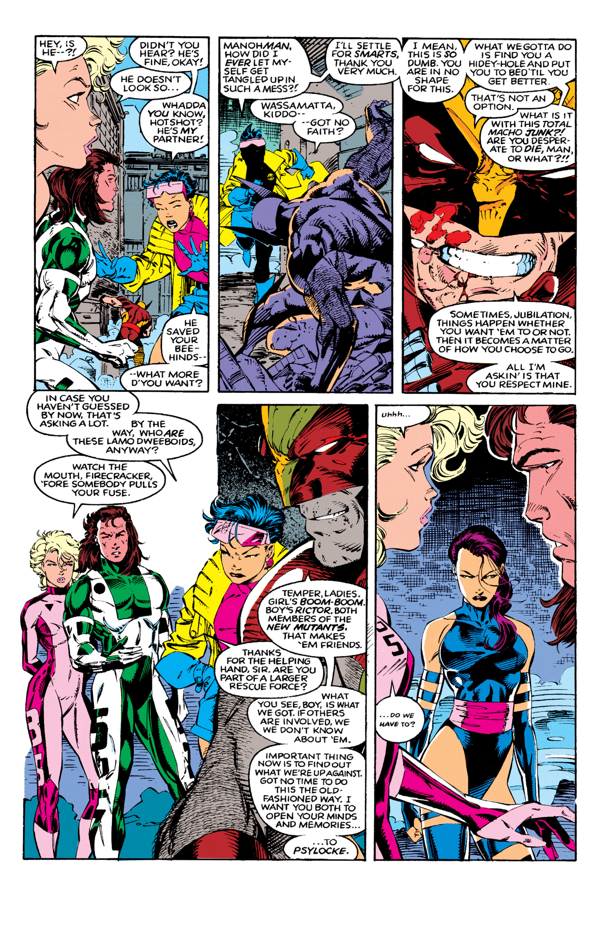Read online Uncanny X-Men (1963) comic -  Issue #271 - 8