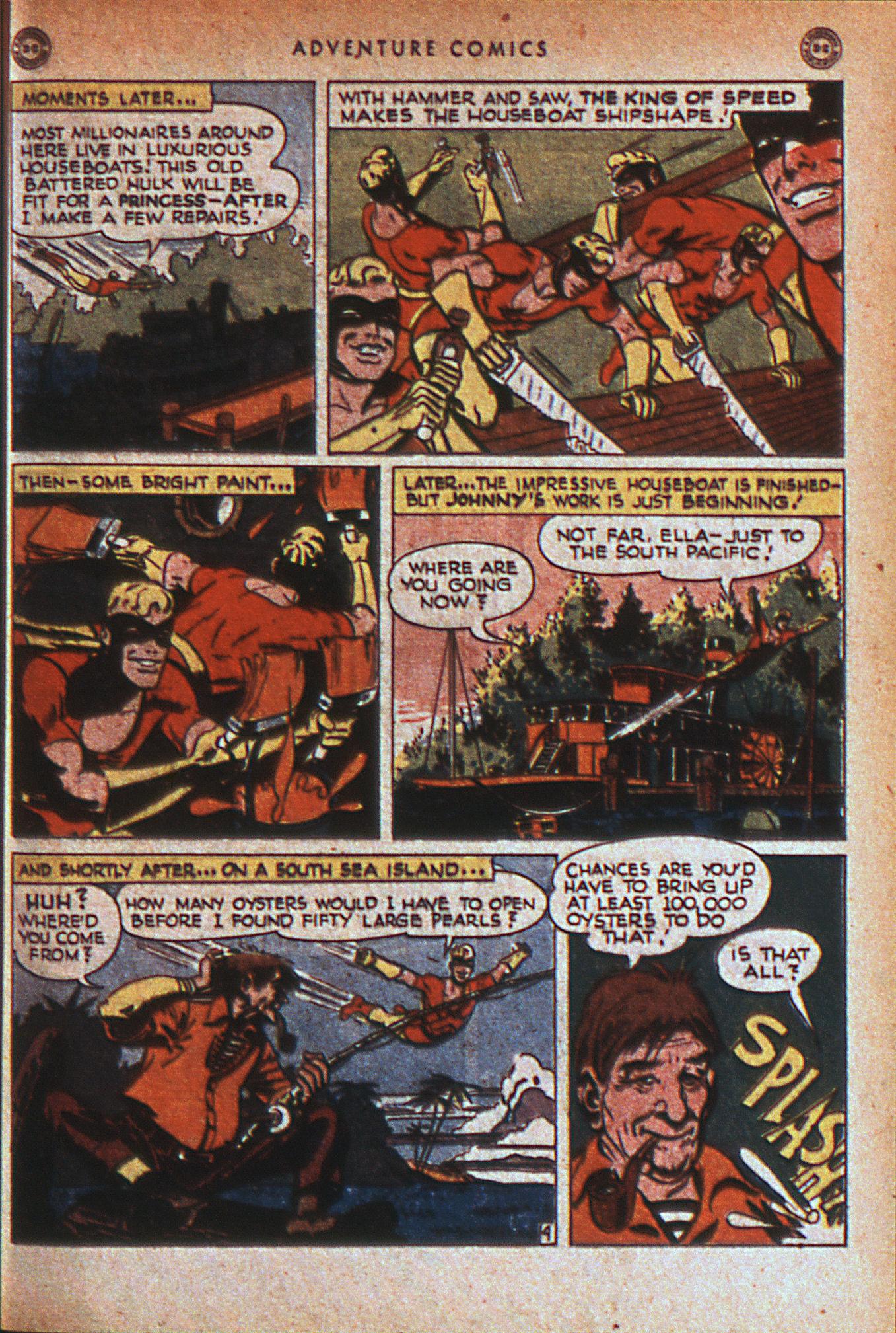 Read online Adventure Comics (1938) comic -  Issue #124 - 44