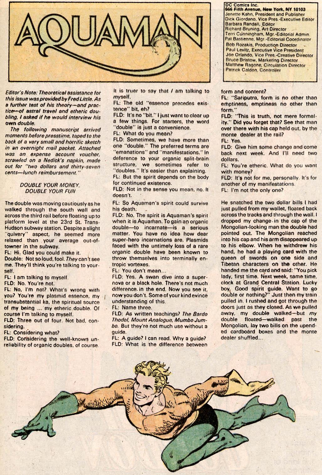 Read online Aquaman Special comic -  Issue #Aquaman Special Full - 40