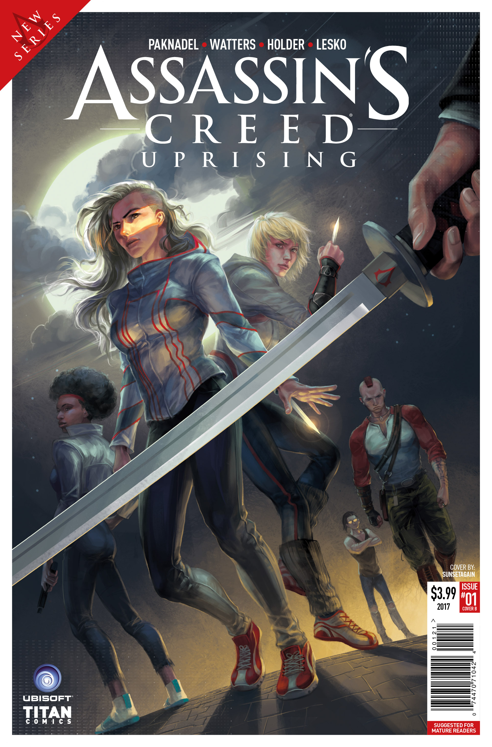 Read online Assassin's Creed: Uprising comic -  Issue #1 - 2