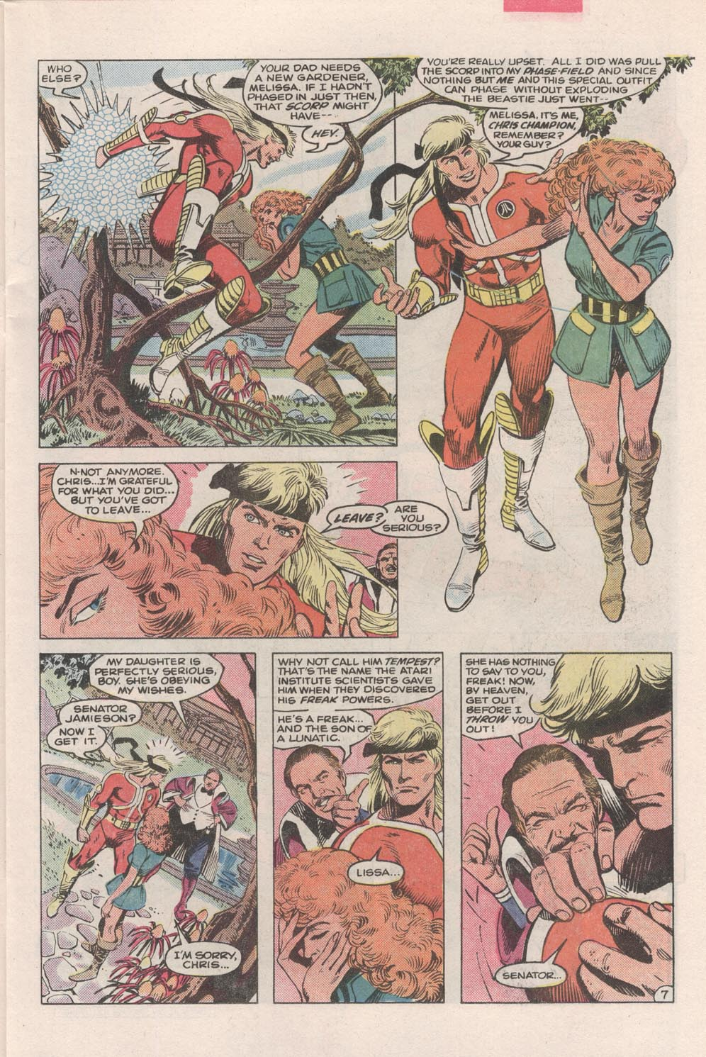 Read online Atari Force (1984) comic -  Issue #2 - 9