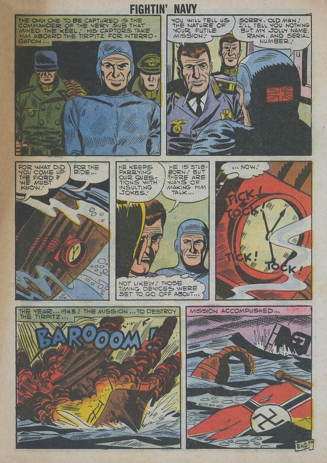 Read online Fightin' Navy comic -  Issue #82 - 65