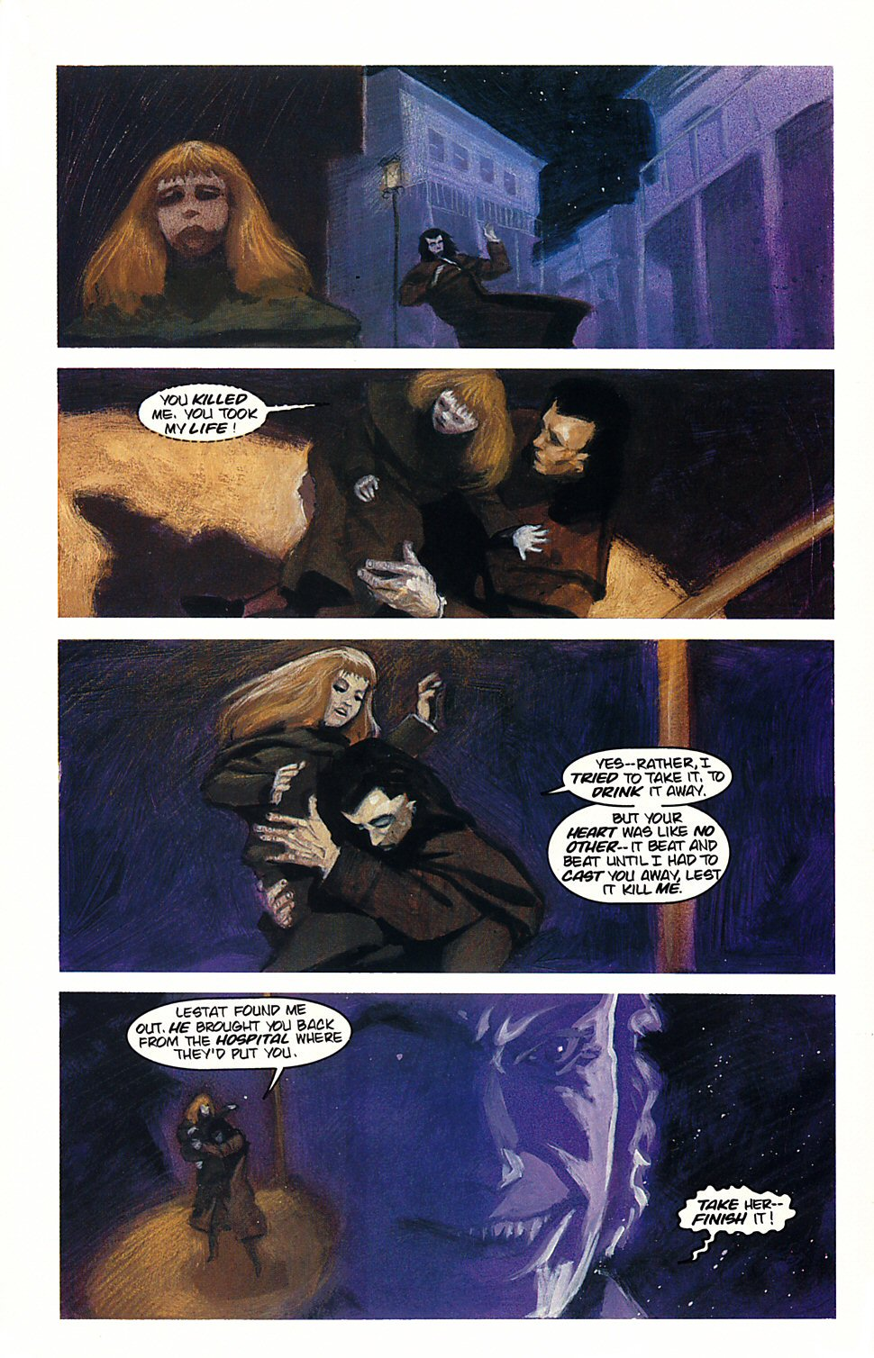 Read online Anne Rice's Interview with the Vampire comic -  Issue #4 - 27