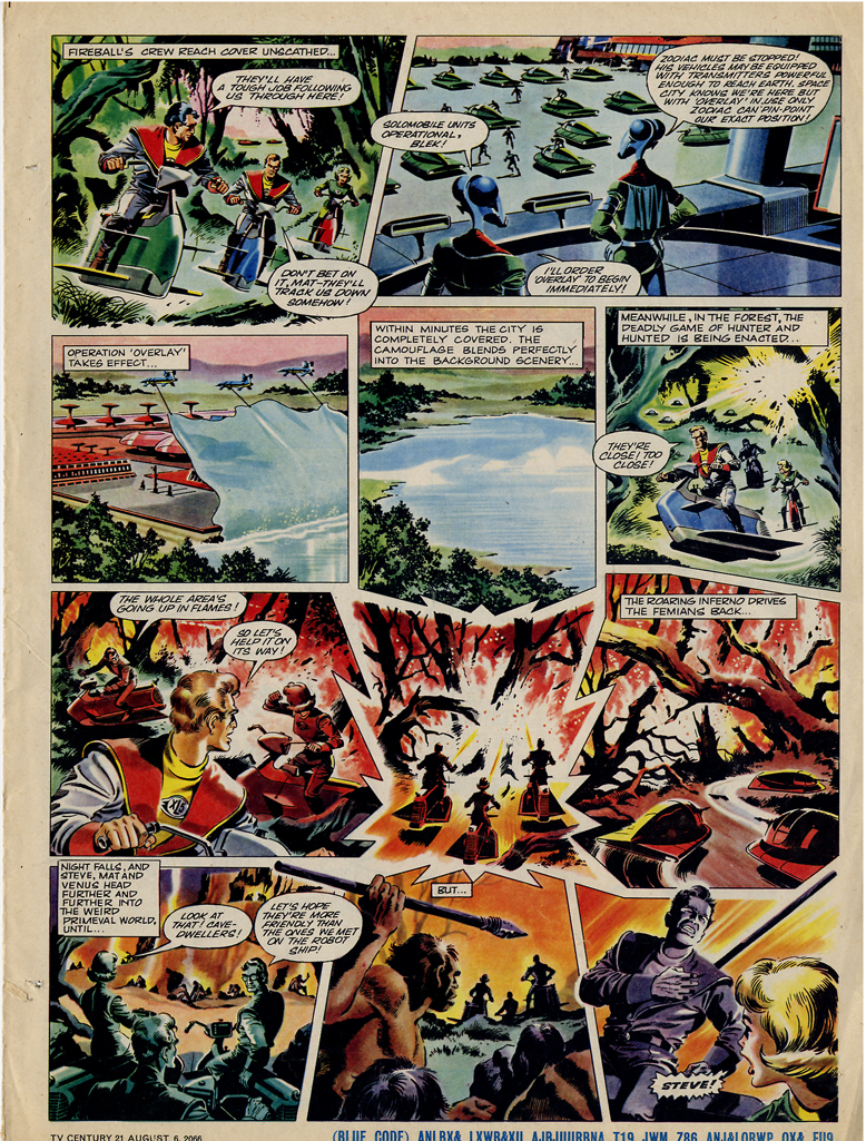 Read online TV Century 21 (TV 21) comic -  Issue #81 - 16