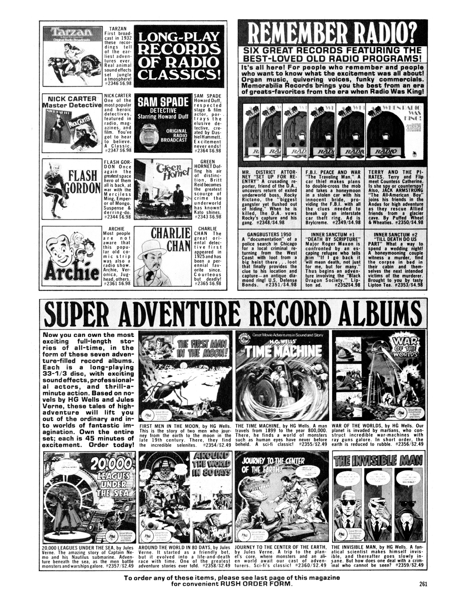 Read online Eerie Archives comic -  Issue # TPB 14 - 262