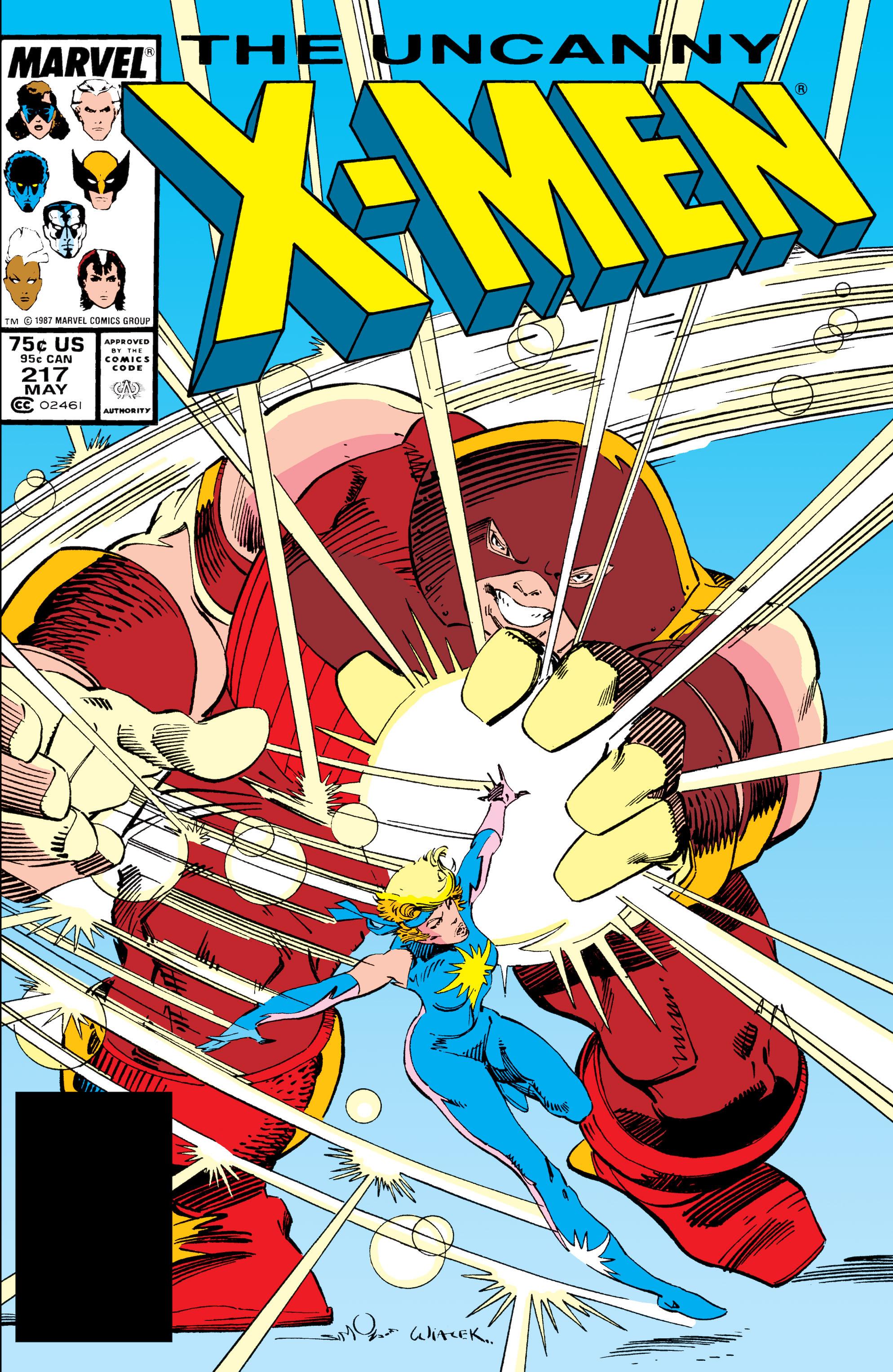 Read online Uncanny X-Men (1963) comic -  Issue #217 - 1