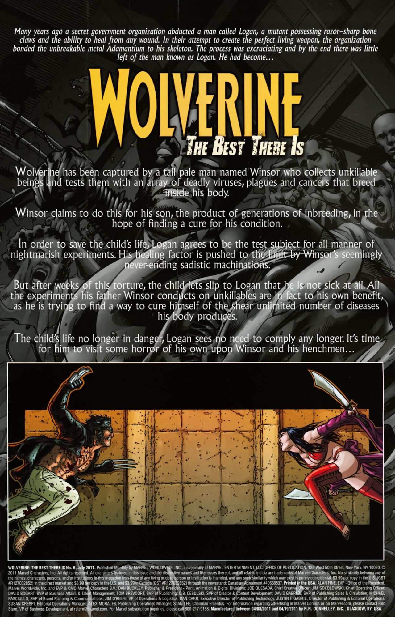 Read online Wolverine: The Best There Is comic -  Issue #6 - 2