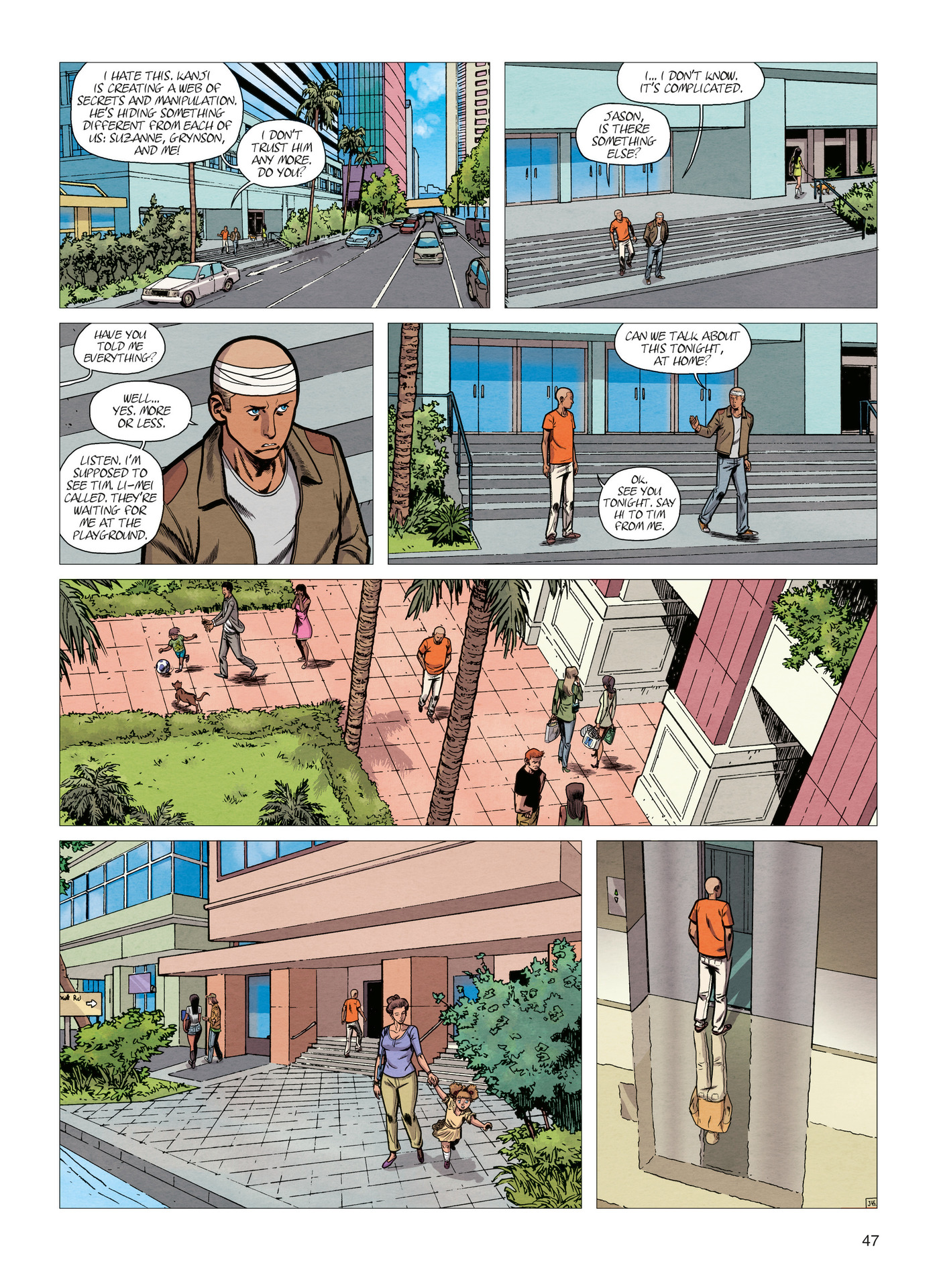 Read online Alter Ego comic -  Issue #4 - 49