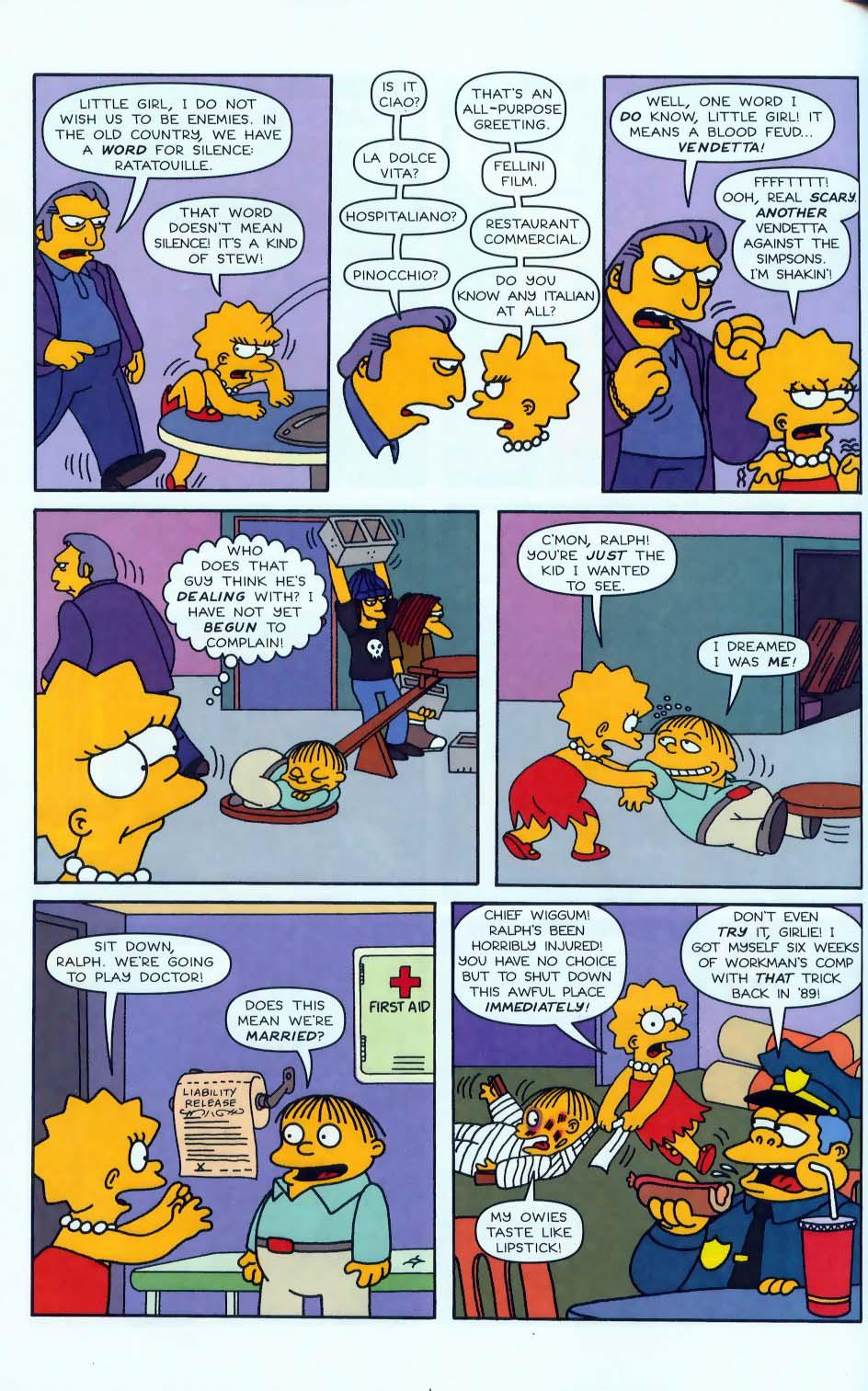 Read online Simpsons Comics comic -  Issue #50 - 75