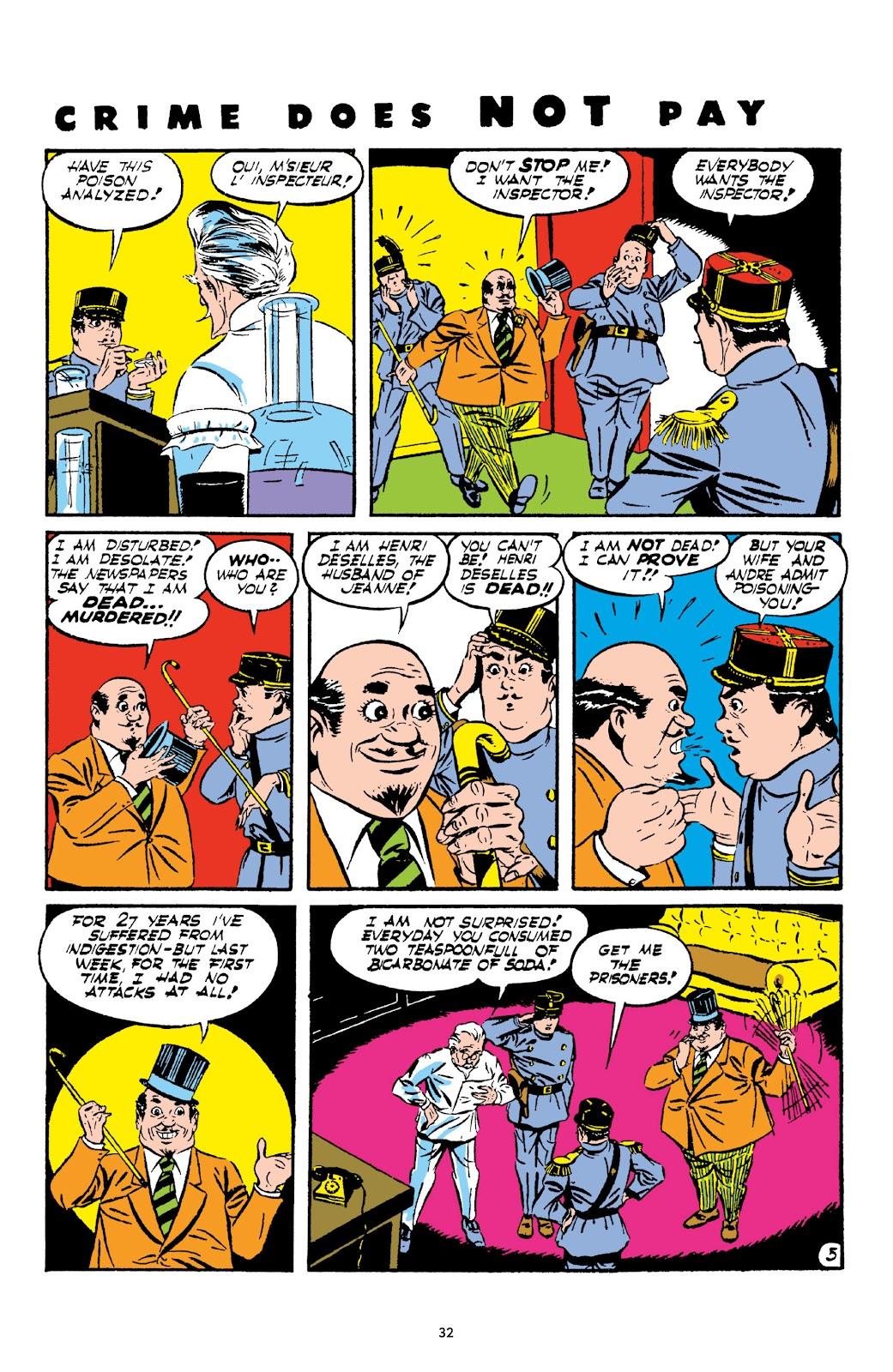 Read online Crime Does Not Pay Archives comic -  Issue # TPB 2 (Part 1) - 32
