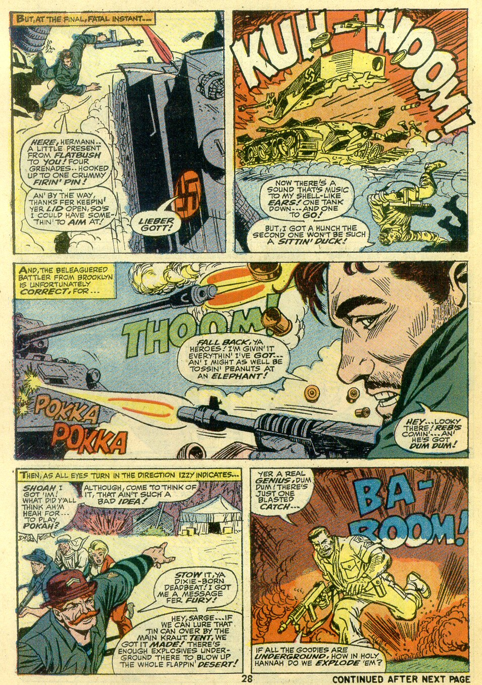 Read online Sgt. Fury comic -  Issue #107 - 30