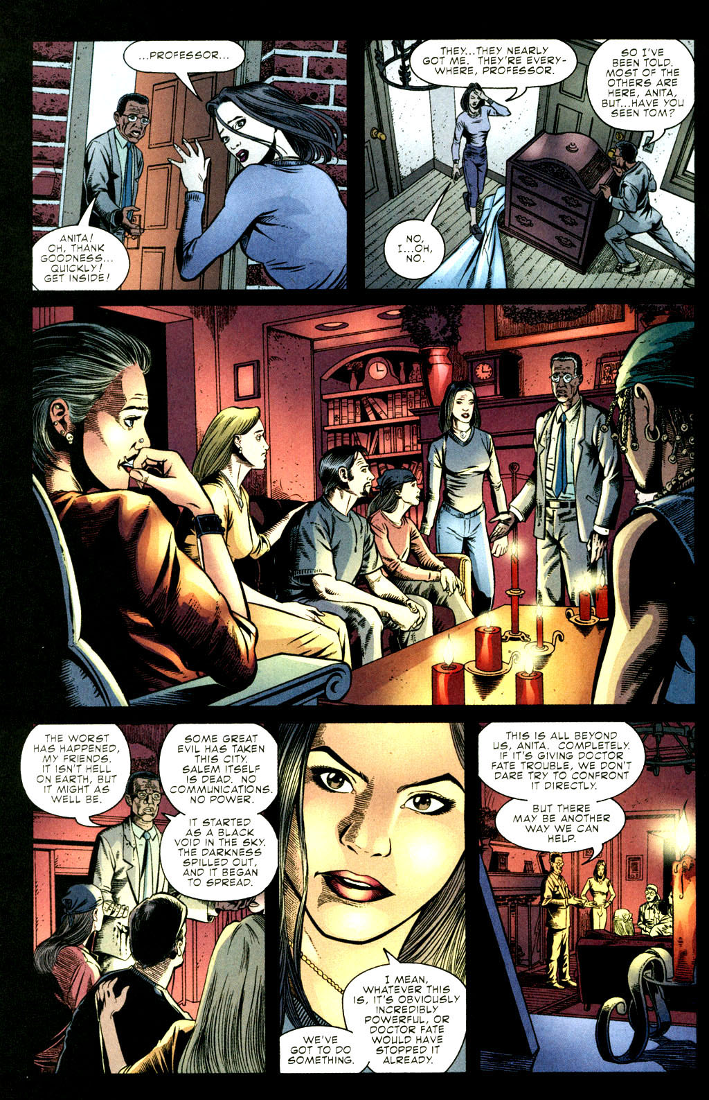 Read online Doctor Fate (2003) comic -  Issue #3 - 13