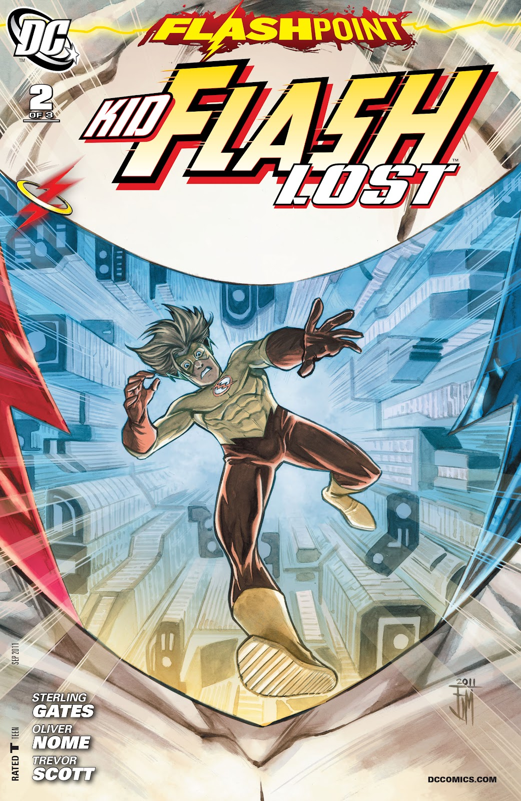 Flashpoint: Kid Flash Lost issue 2 - Page 1