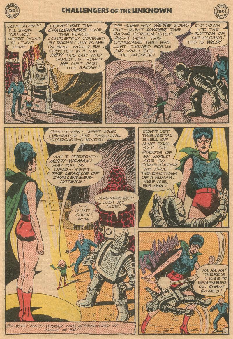 Challengers of the Unknown (1958) issue 45 - Page 7