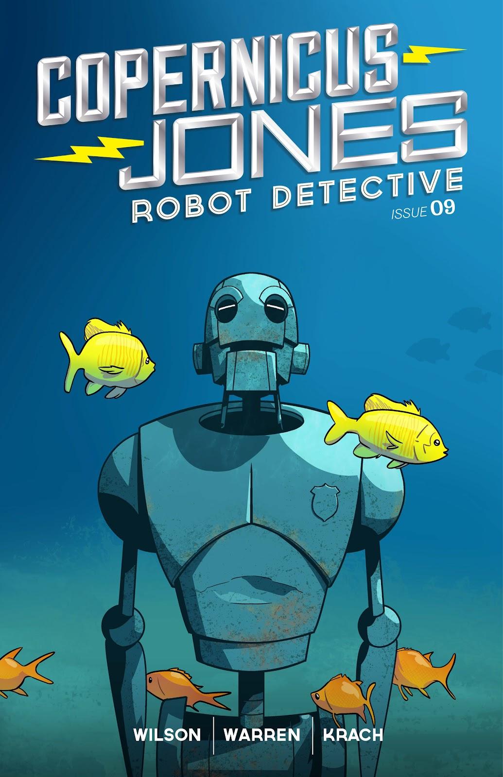 Copernicus Jones: Robot Detective 9 Page 1