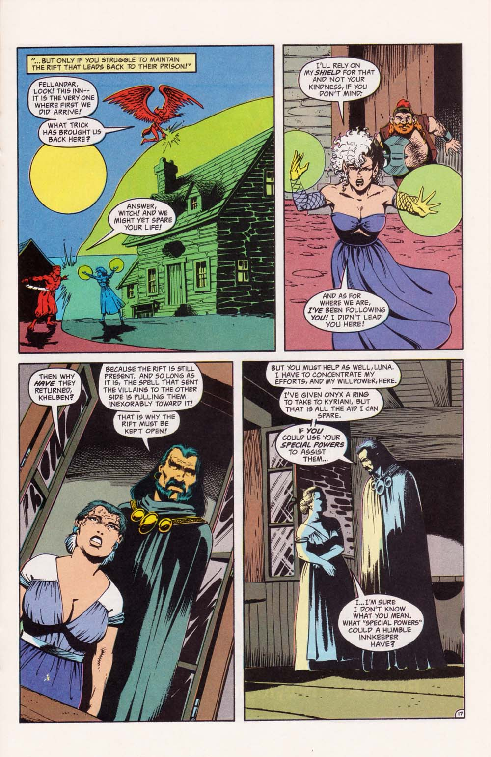 Read online Advanced Dungeons & Dragons comic -  Issue #33 - 17