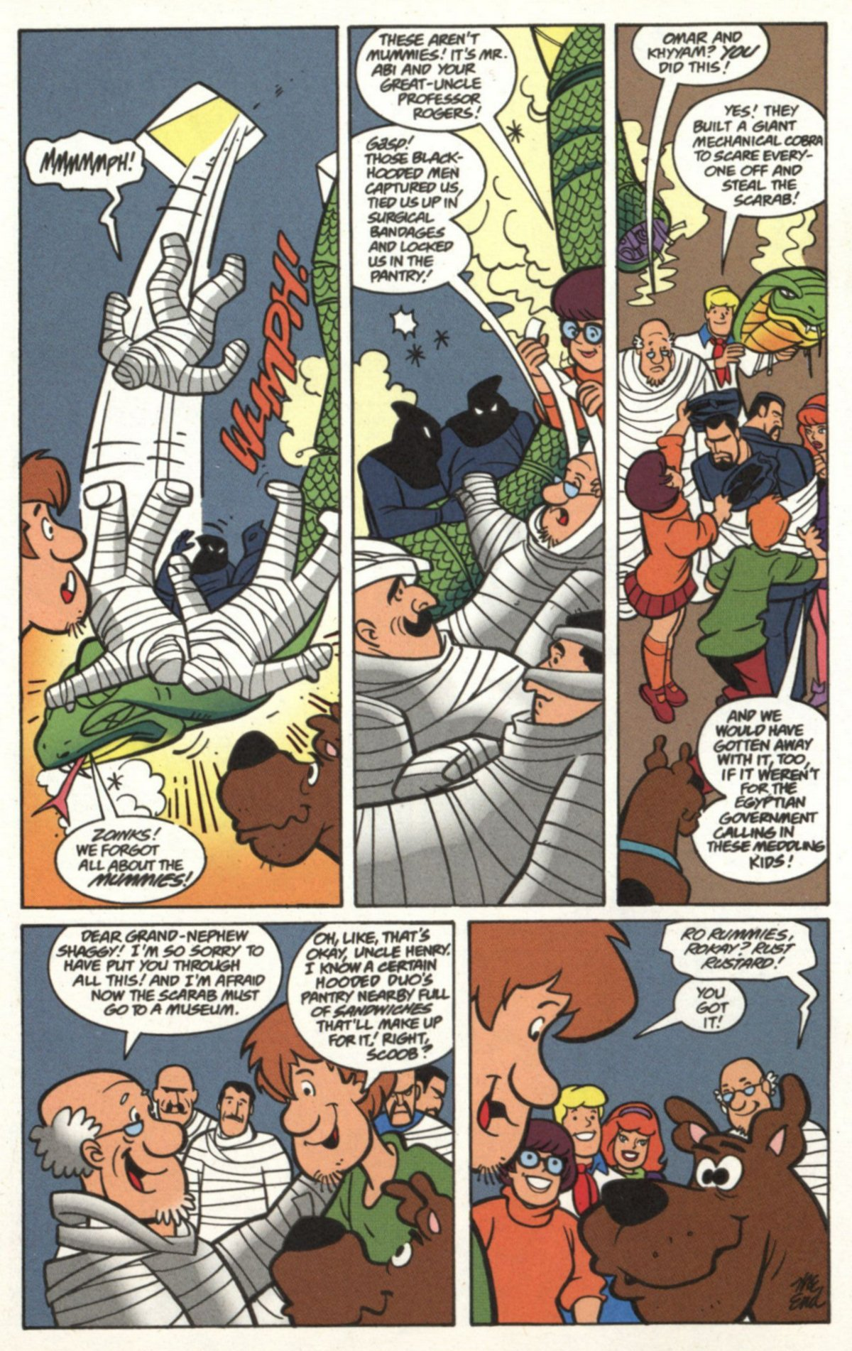 Read online Scooby-Doo (1997) comic -  Issue #19 - 13