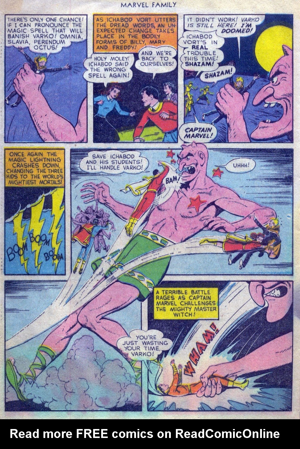 The Marvel Family issue 52 - Page 31