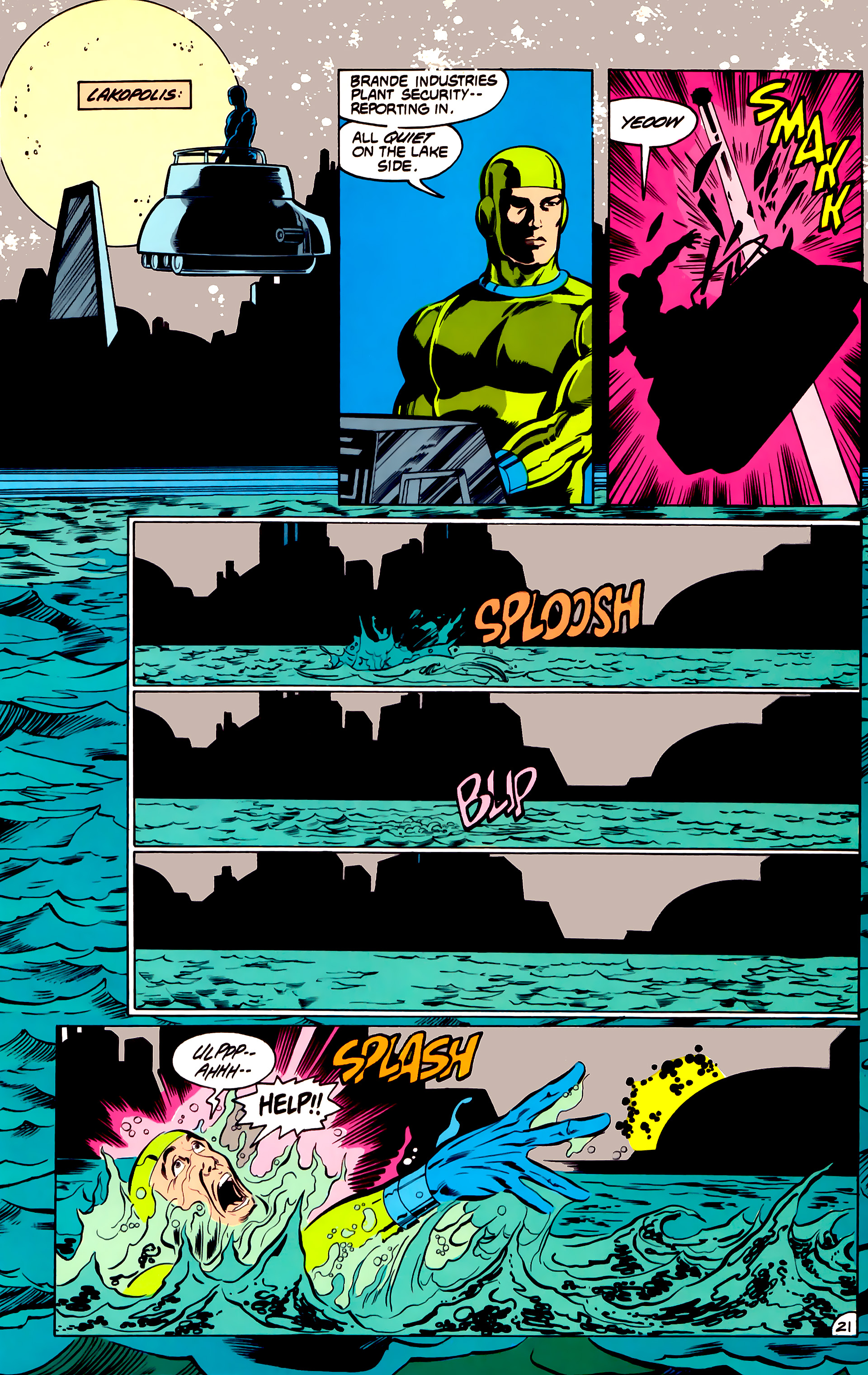 Legion of Super-Heroes (1984) 31 Page 21