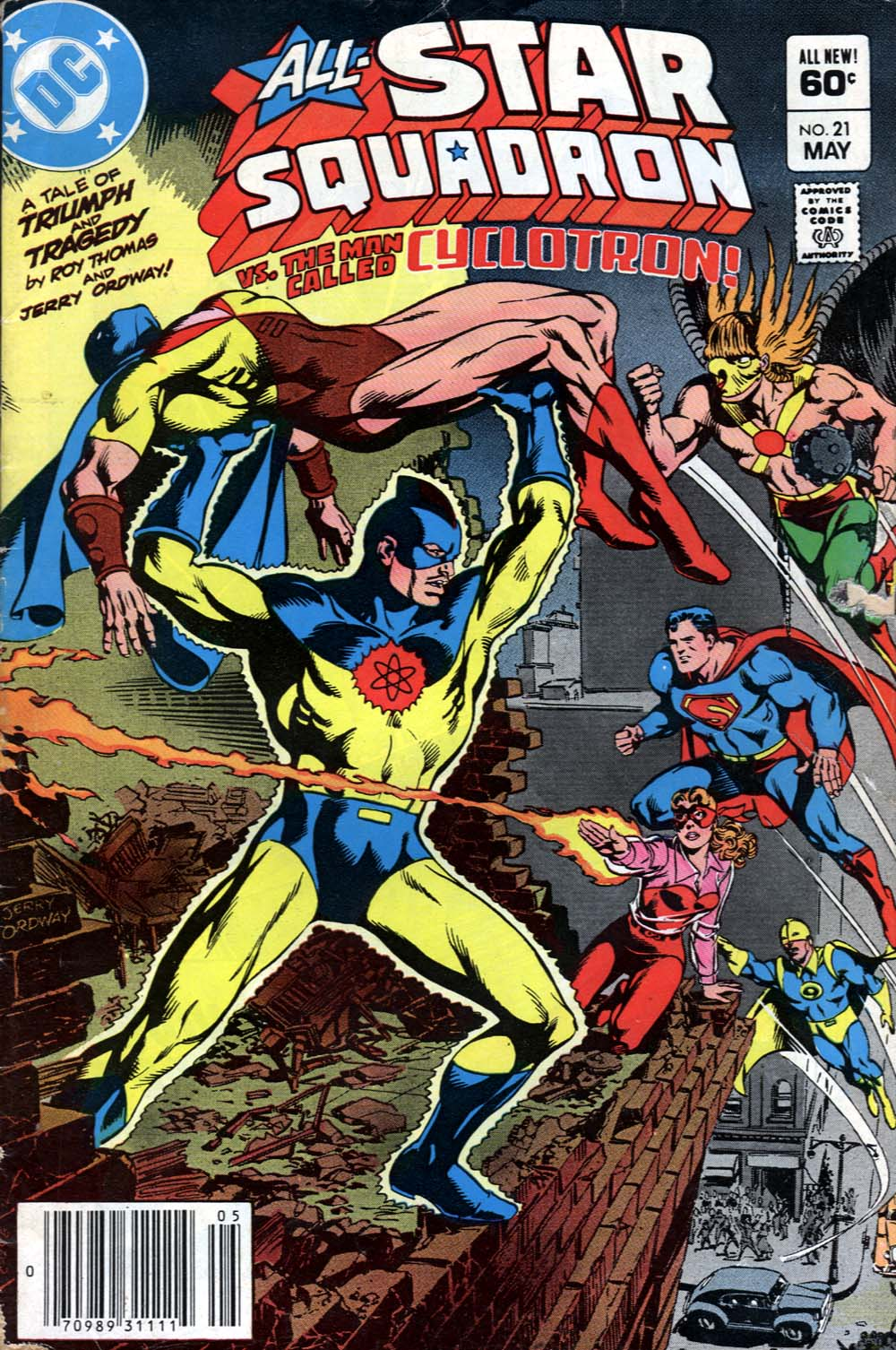 Read online All-Star Squadron comic -  Issue #21 - 1