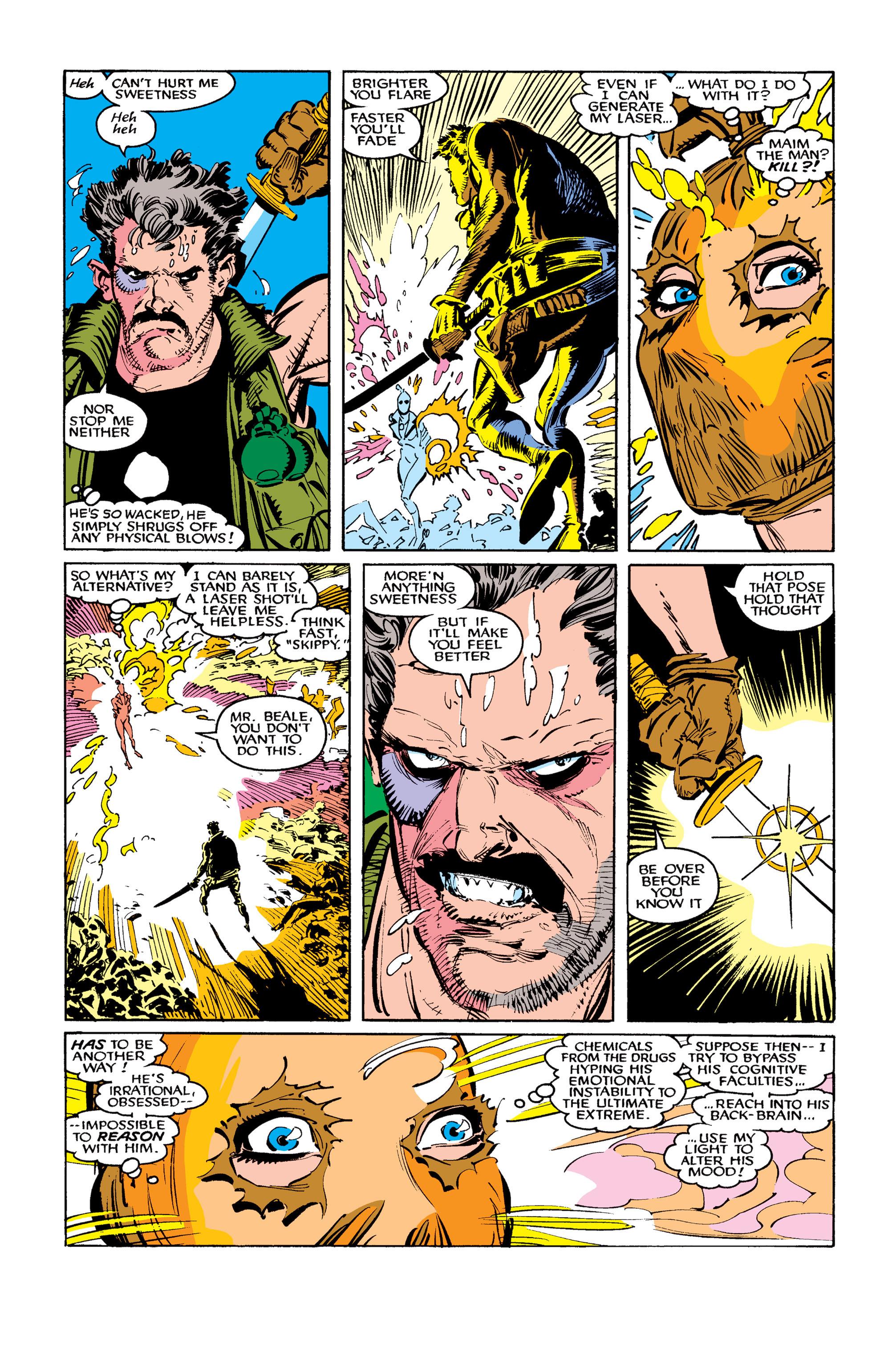 Read online Uncanny X-Men (1963) comic -  Issue #260 - 23