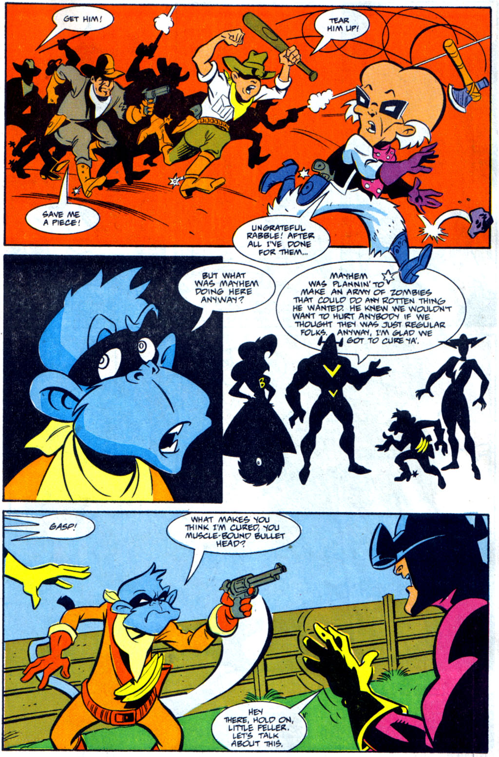 Read online Defenders of Dynatron City comic -  Issue #3 - 22