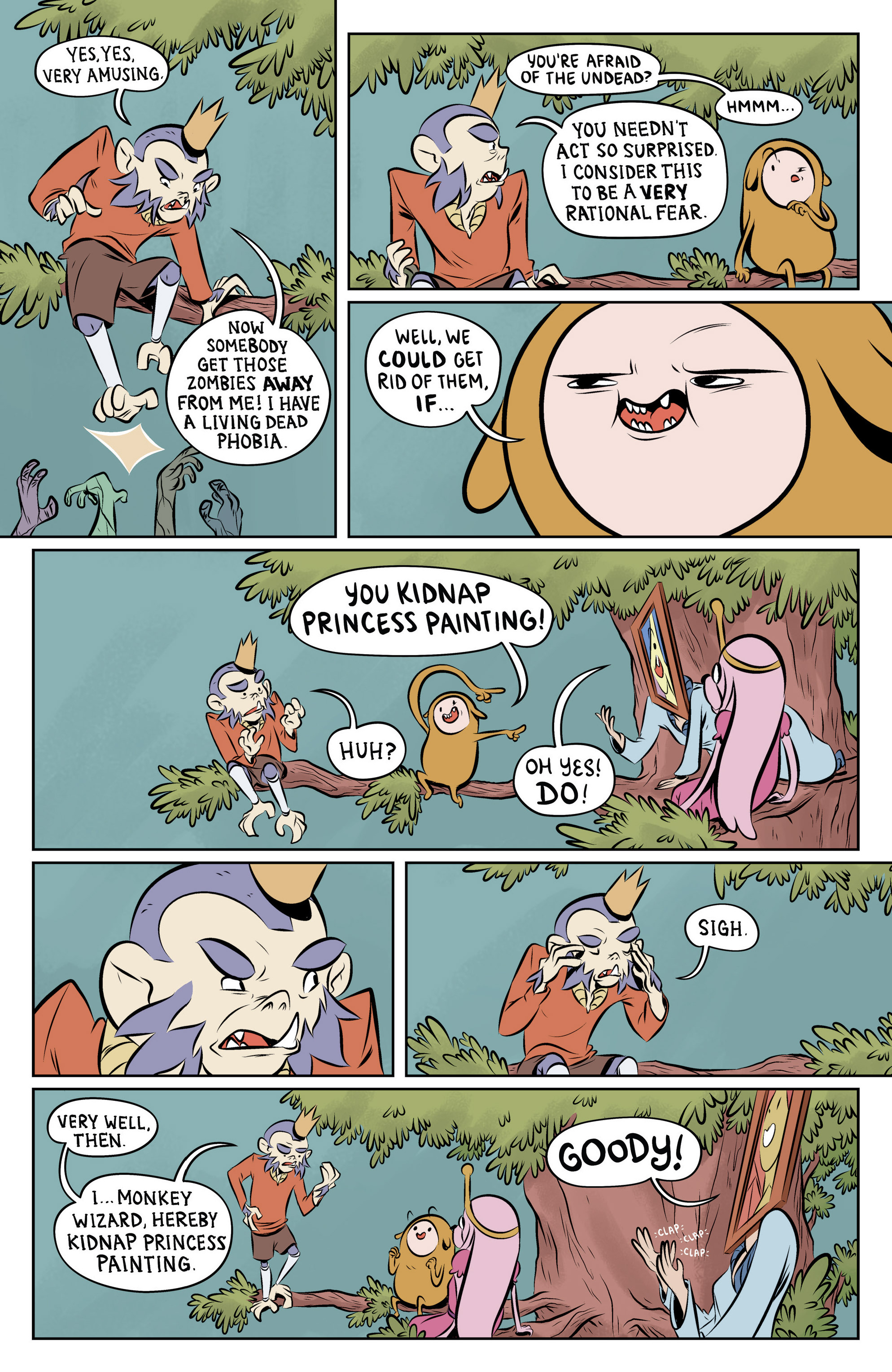 Read online Adventure Time: The Flip Side comic -  Issue #6 - 21