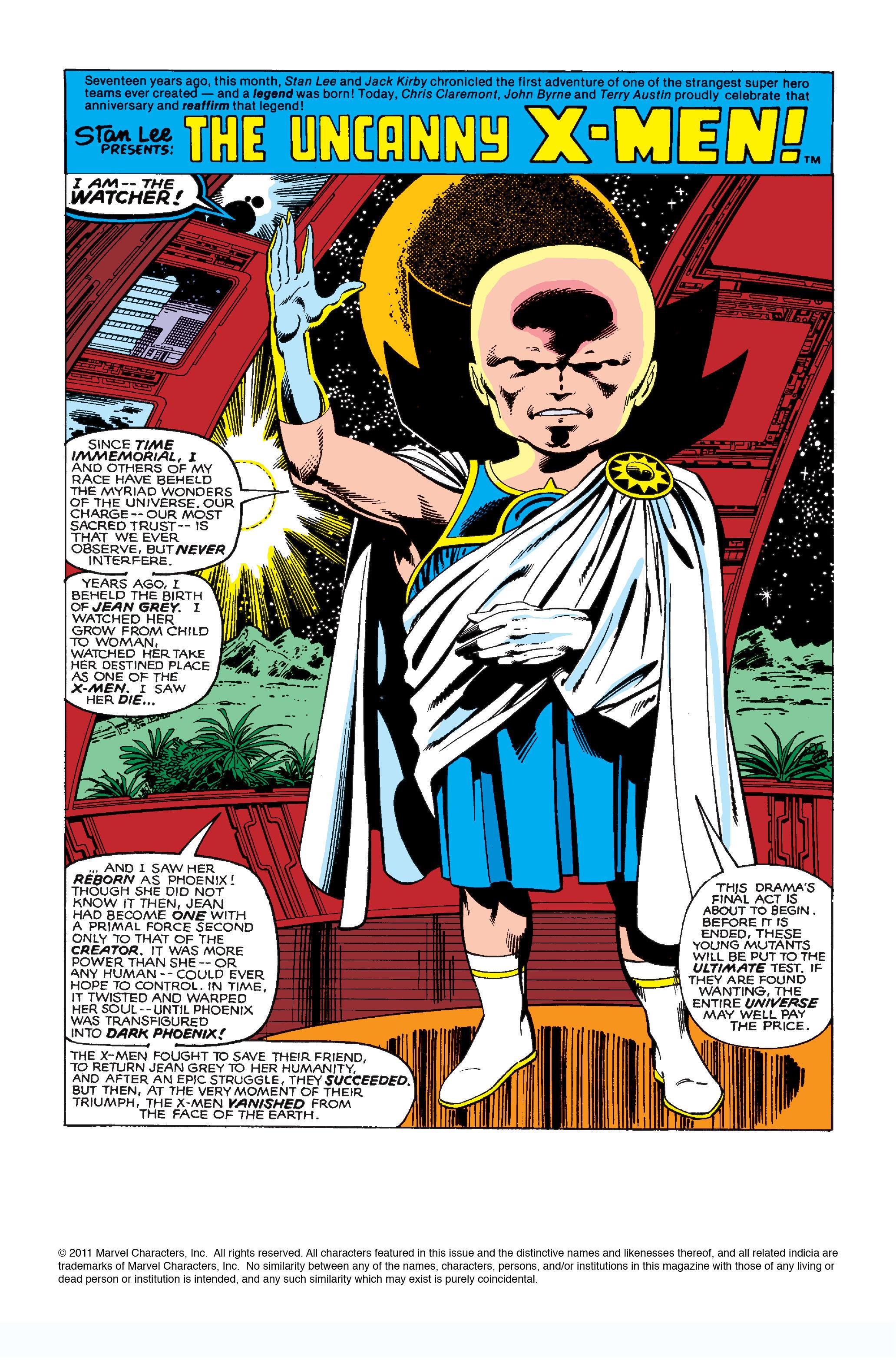 Uncanny X-Men (1963) 137 Page 1