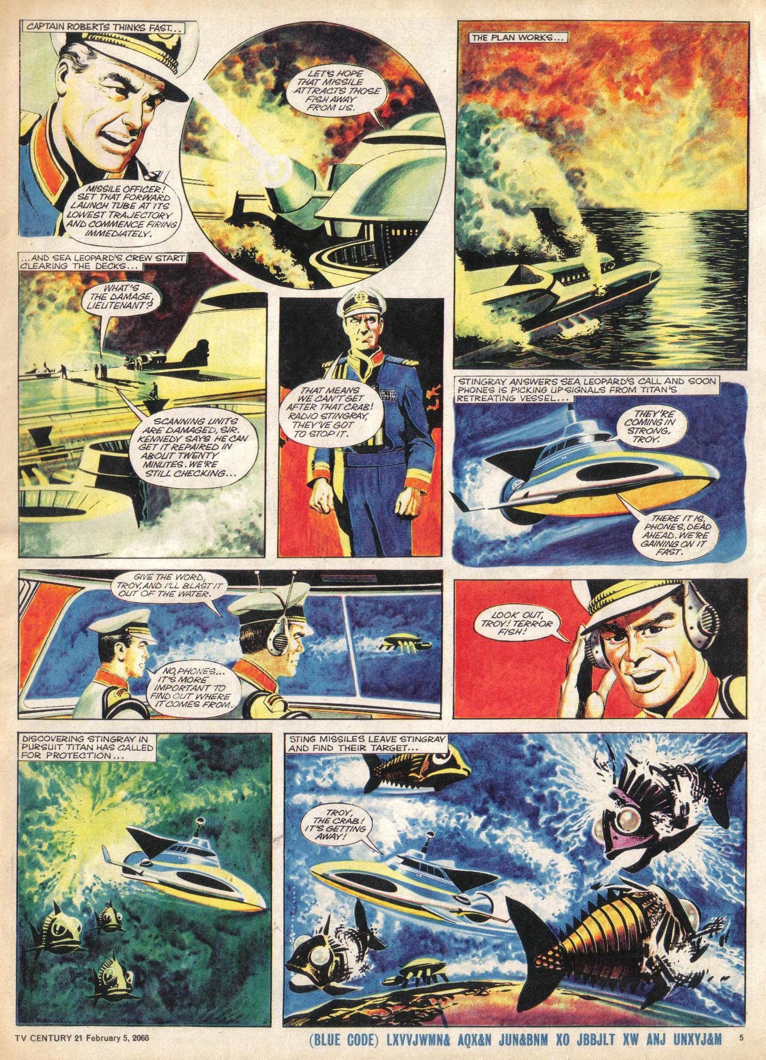 Read online TV Century 21 (TV 21) comic -  Issue #55 - 5