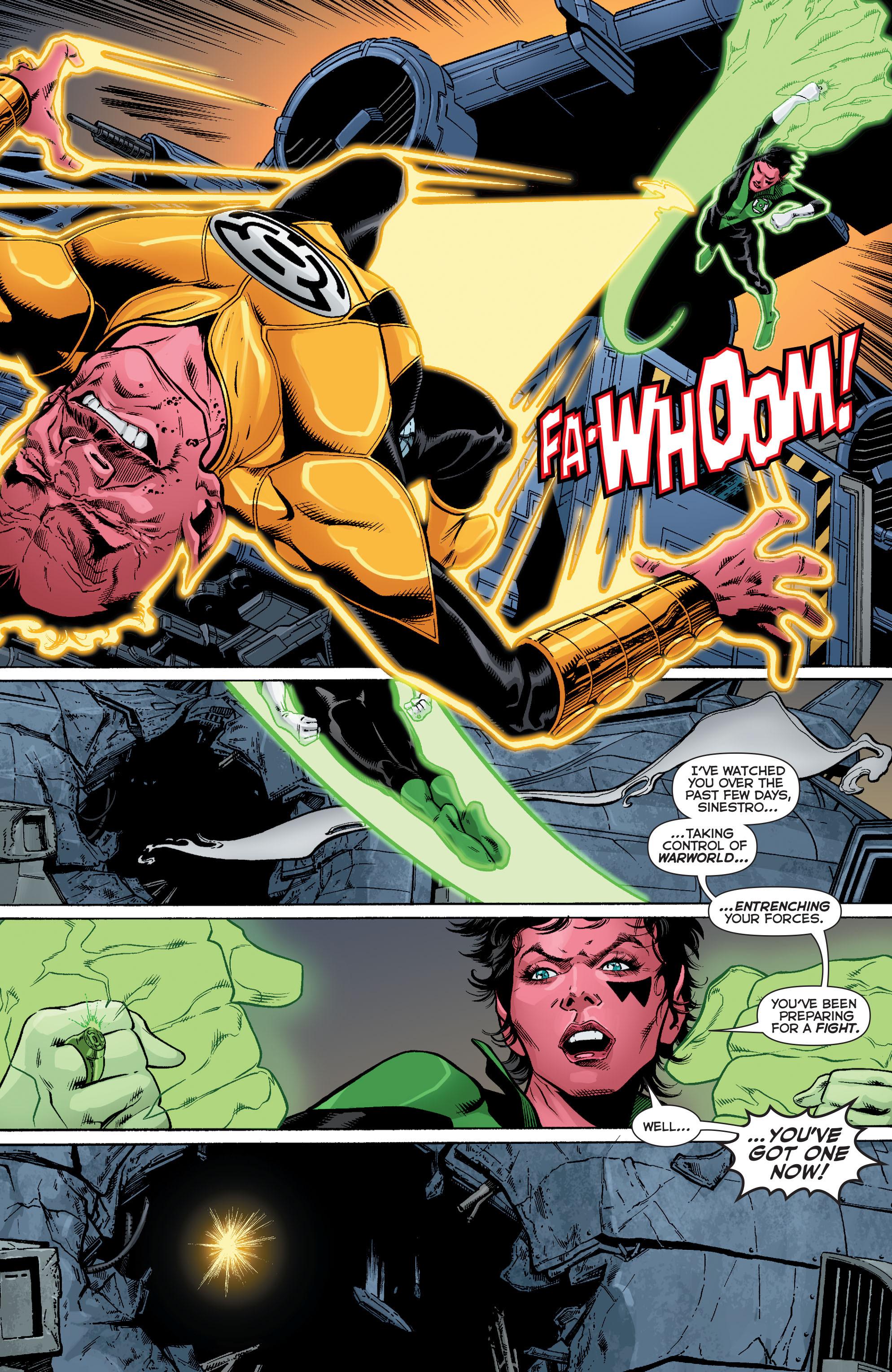 Read online Sinestro comic -  Issue #12 - 16